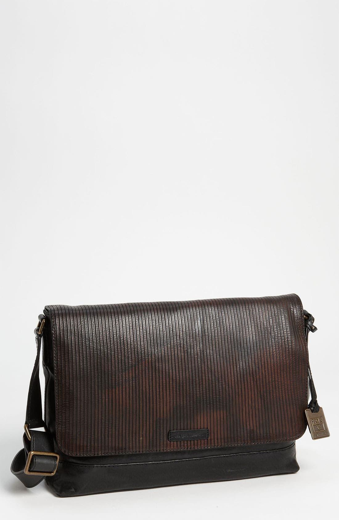 Alternate Image 1 Selected - Frye 'James' Leather Messenger Bag
