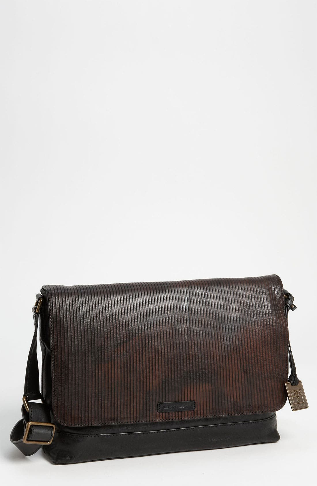 Main Image - Frye 'James' Leather Messenger Bag