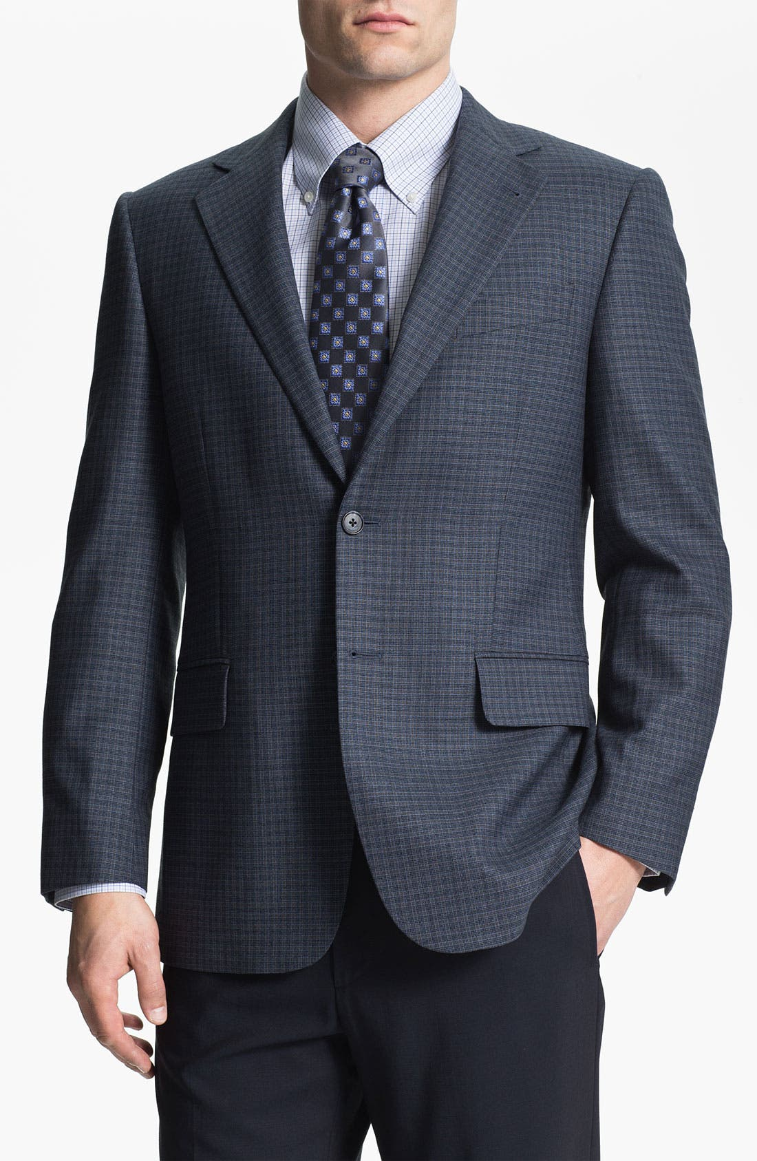 Main Image - Joseph Abboud Check Sportcoat
