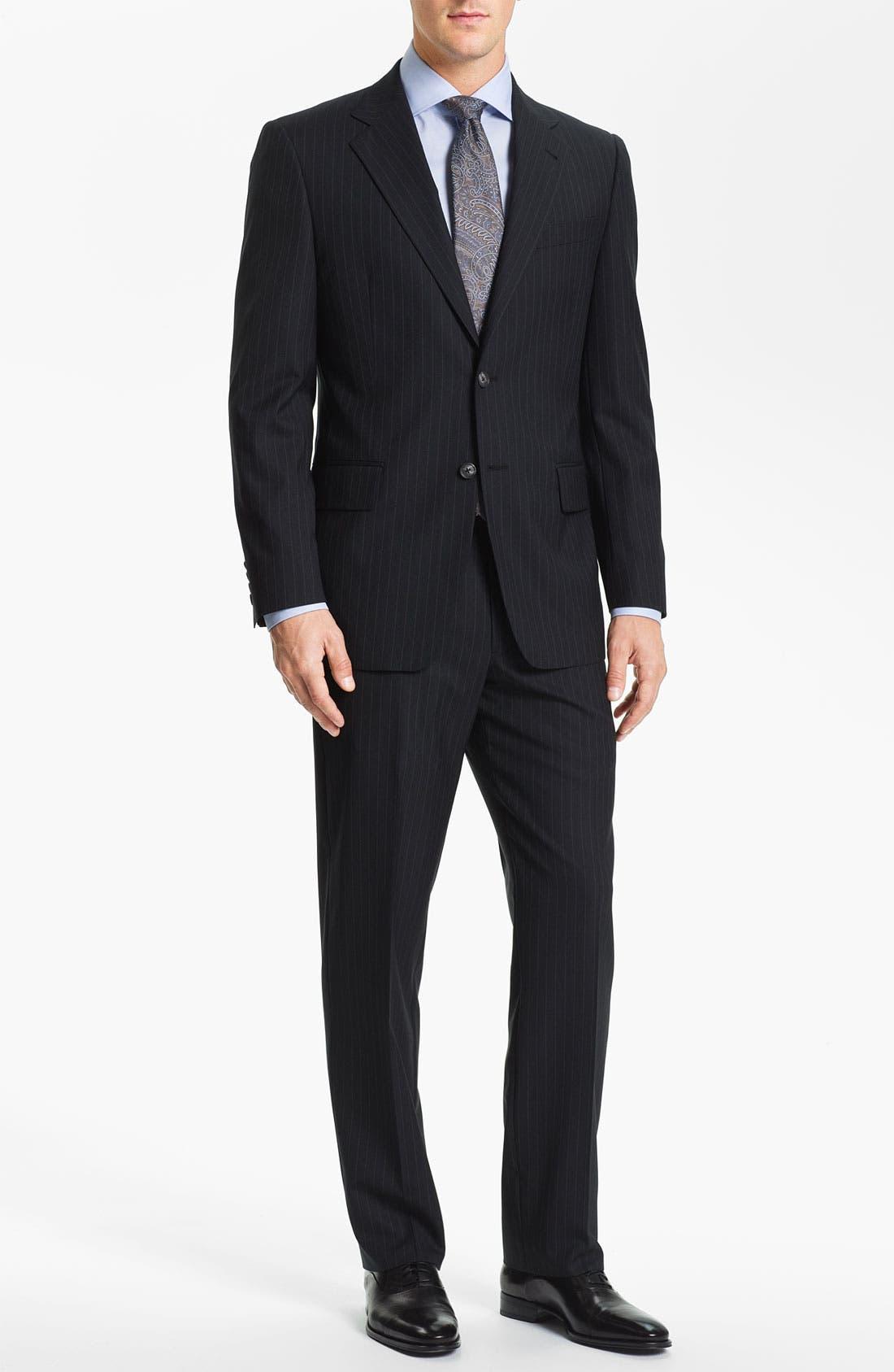 Alternate Image 2  - Joseph Abboud Stripe Suit