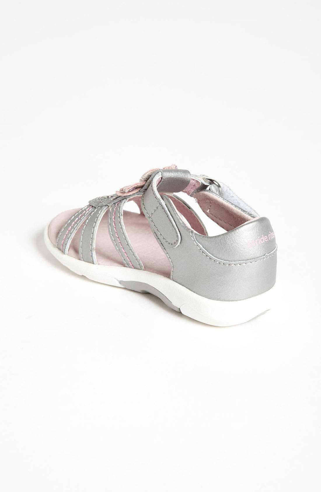 Alternate Image 2  - Stride Rite 'Brenna' Sandal (Baby, Walker & Toddler)
