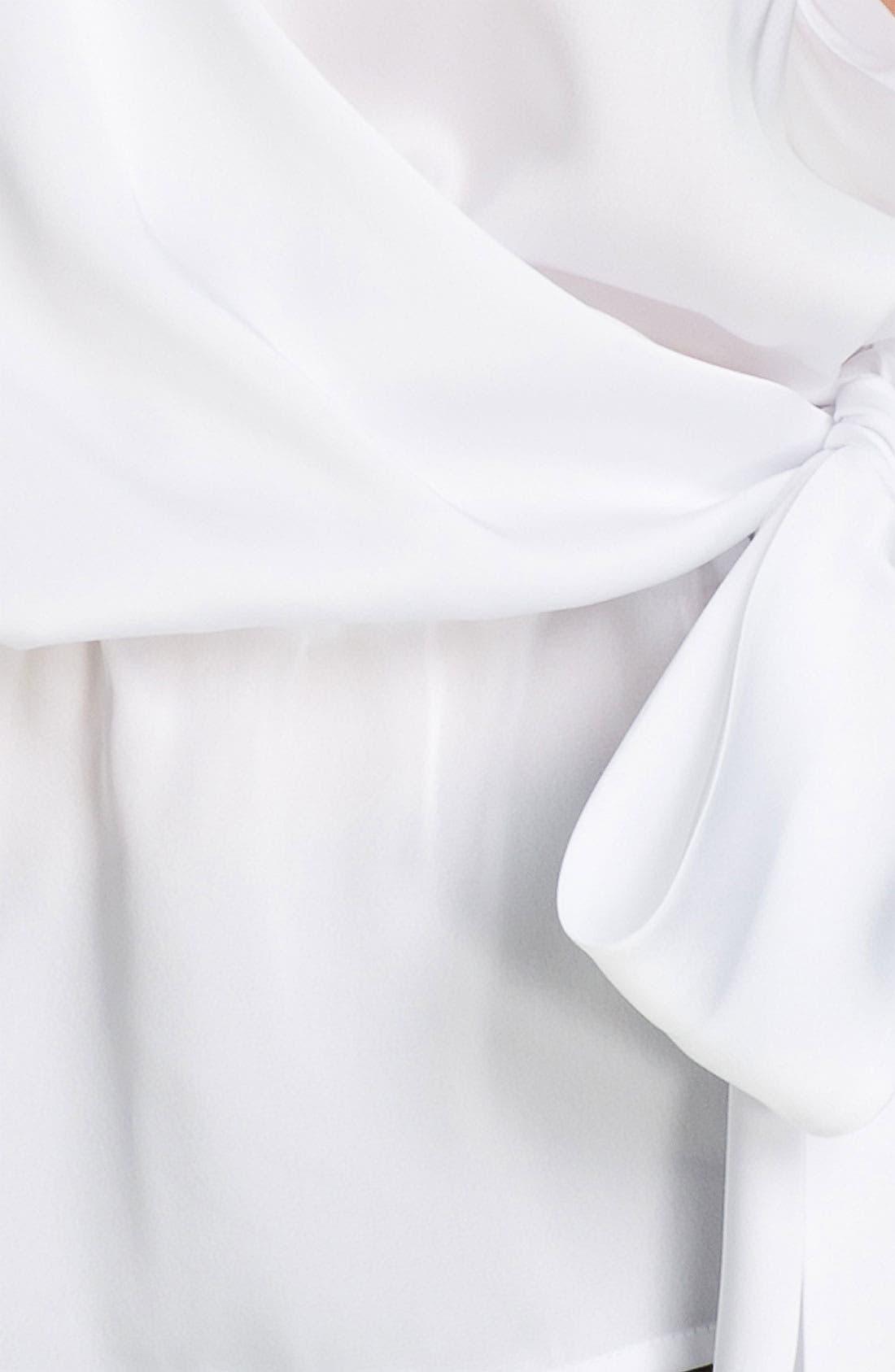 Alternate Image 3  - MICHAEL Michael Kors Faux Wrap Sleeveless Shirt