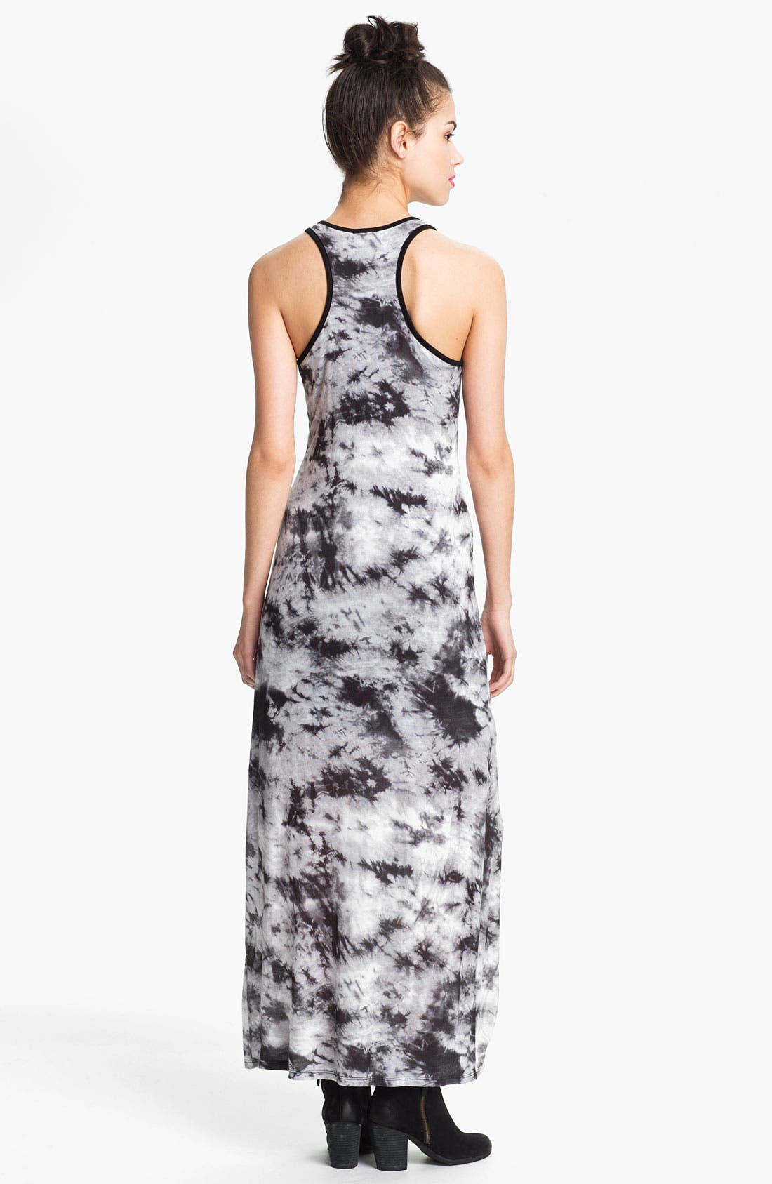 Alternate Image 2  - Leola Couture Tie Dye Maxi Dress (Juniors)