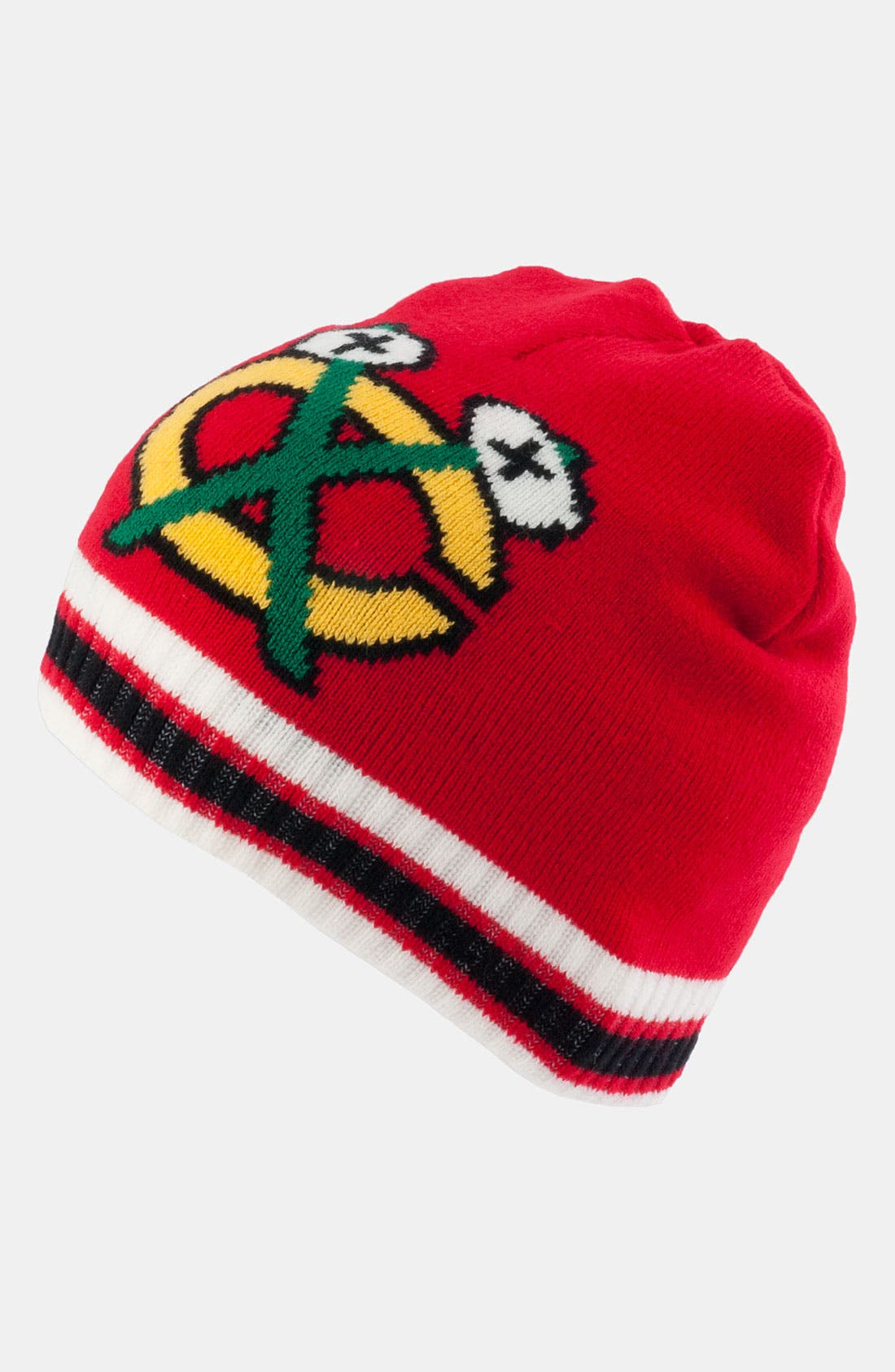 Main Image - American Needle 'Chicago Blackhawks - Right Wing' Knit Hat