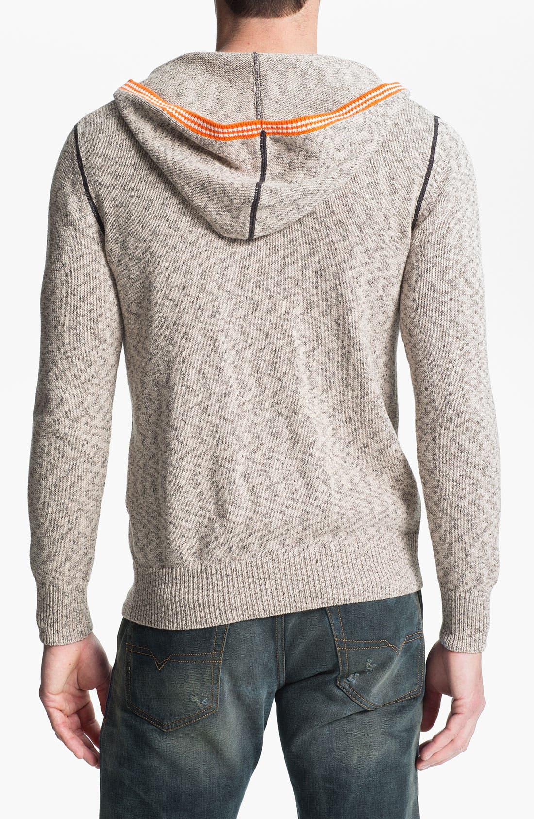 Alternate Image 2  - 55DSL 'Kurtis' Hooded Sweater
