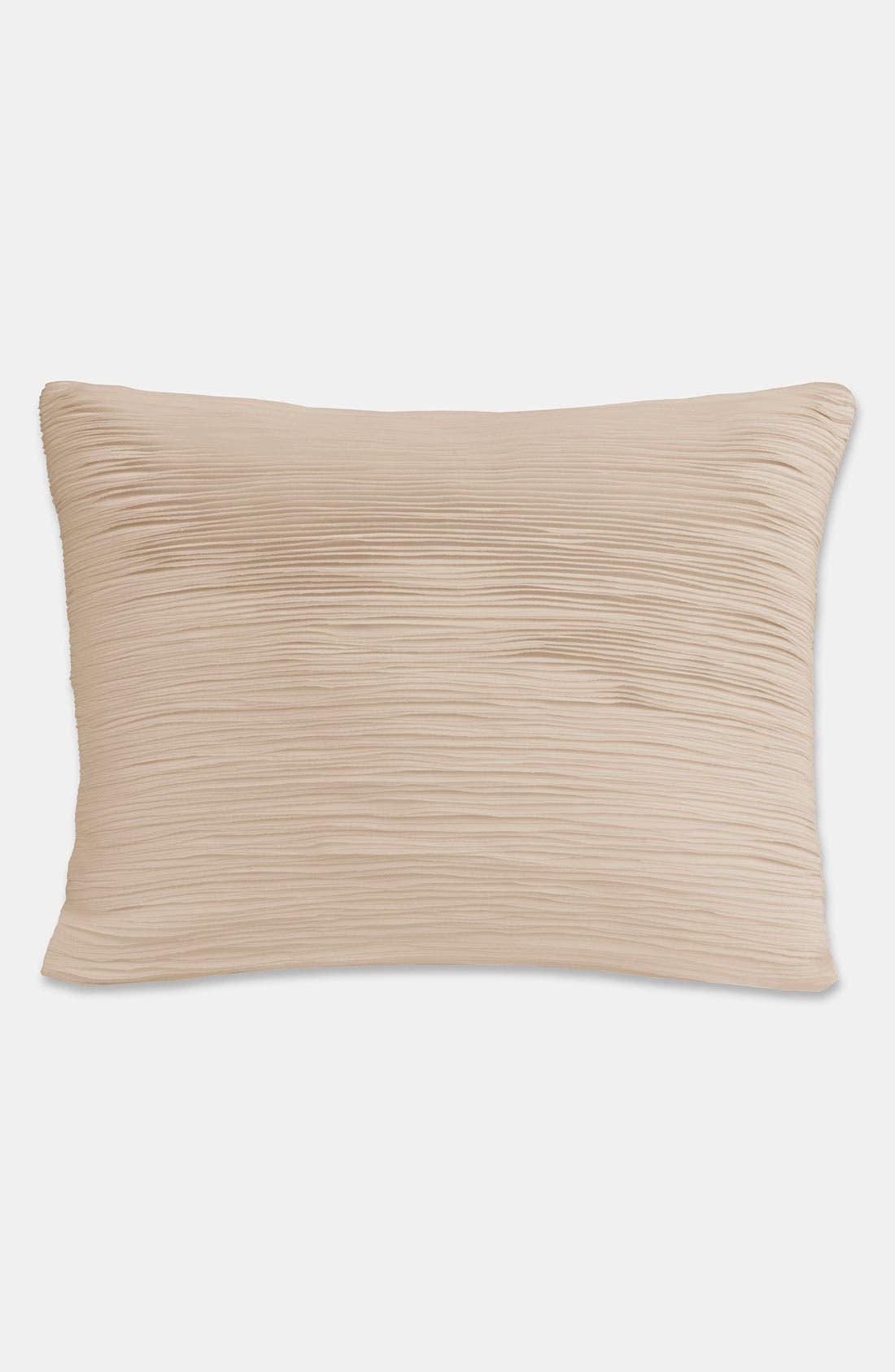 Alternate Image 1 Selected - Donna Karan 'Layered' Sateen Pillow