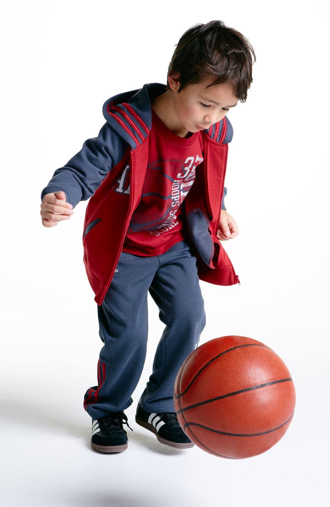 Alternate Image 3  - adidas 'Adi' Hoodie (Little Boys)