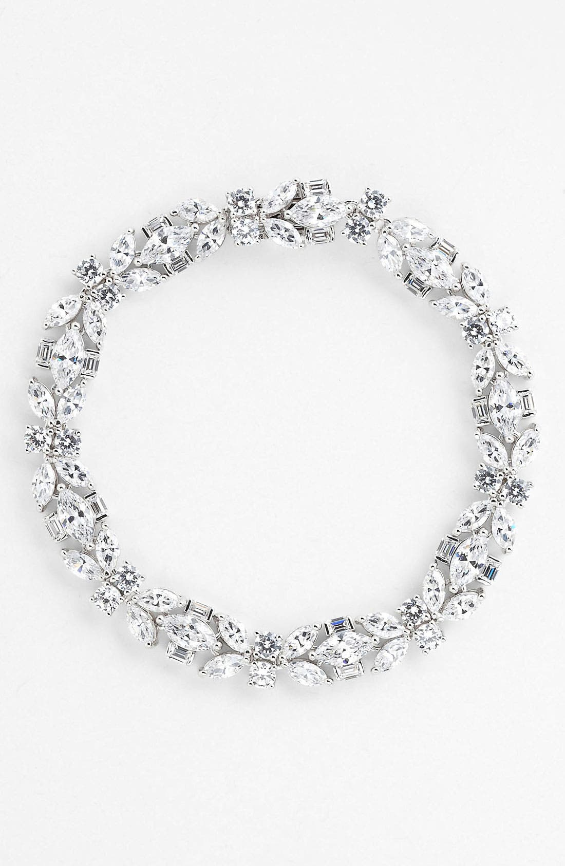 Alternate Image 1 Selected - Nadri Cubic Zirconia Cluster Line Bracelet (Nordstrom Exclusive)