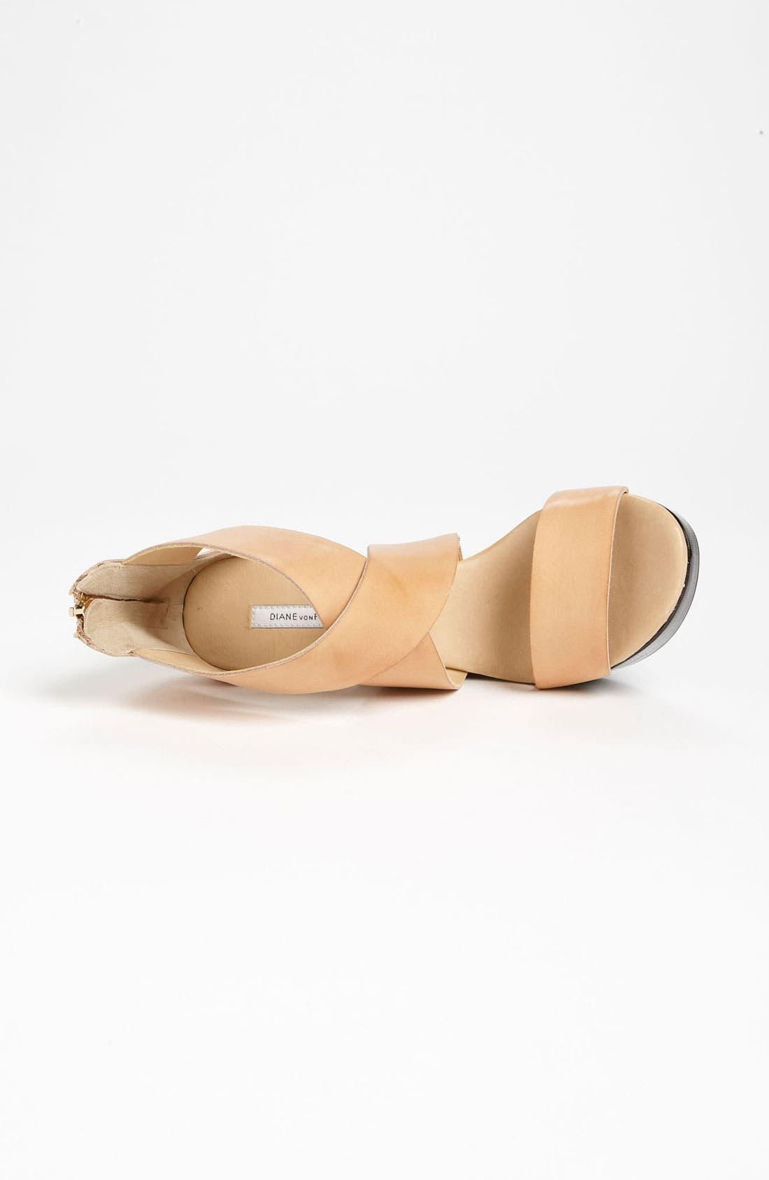 Alternate Image 3  - Diane von Furstenberg 'Opal' Wedge Sandal