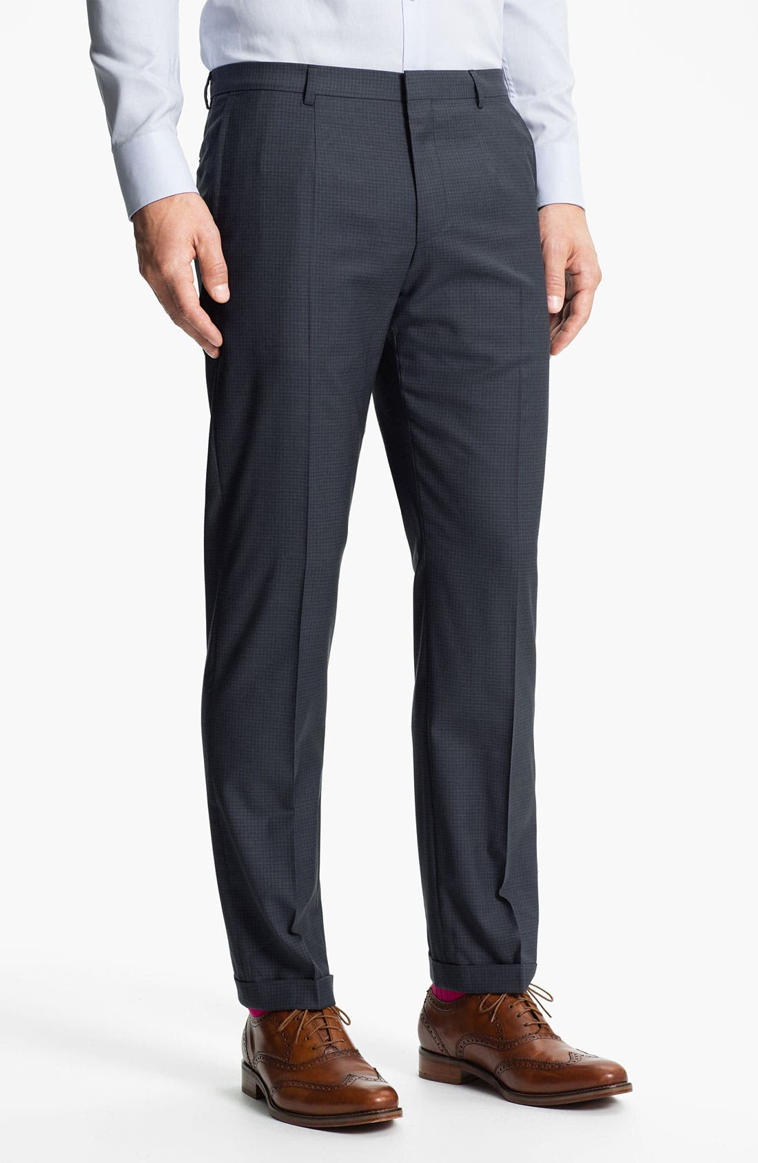Alternate Image 4  - HUGO 'Amaro/Heise' Trim Fit Suit