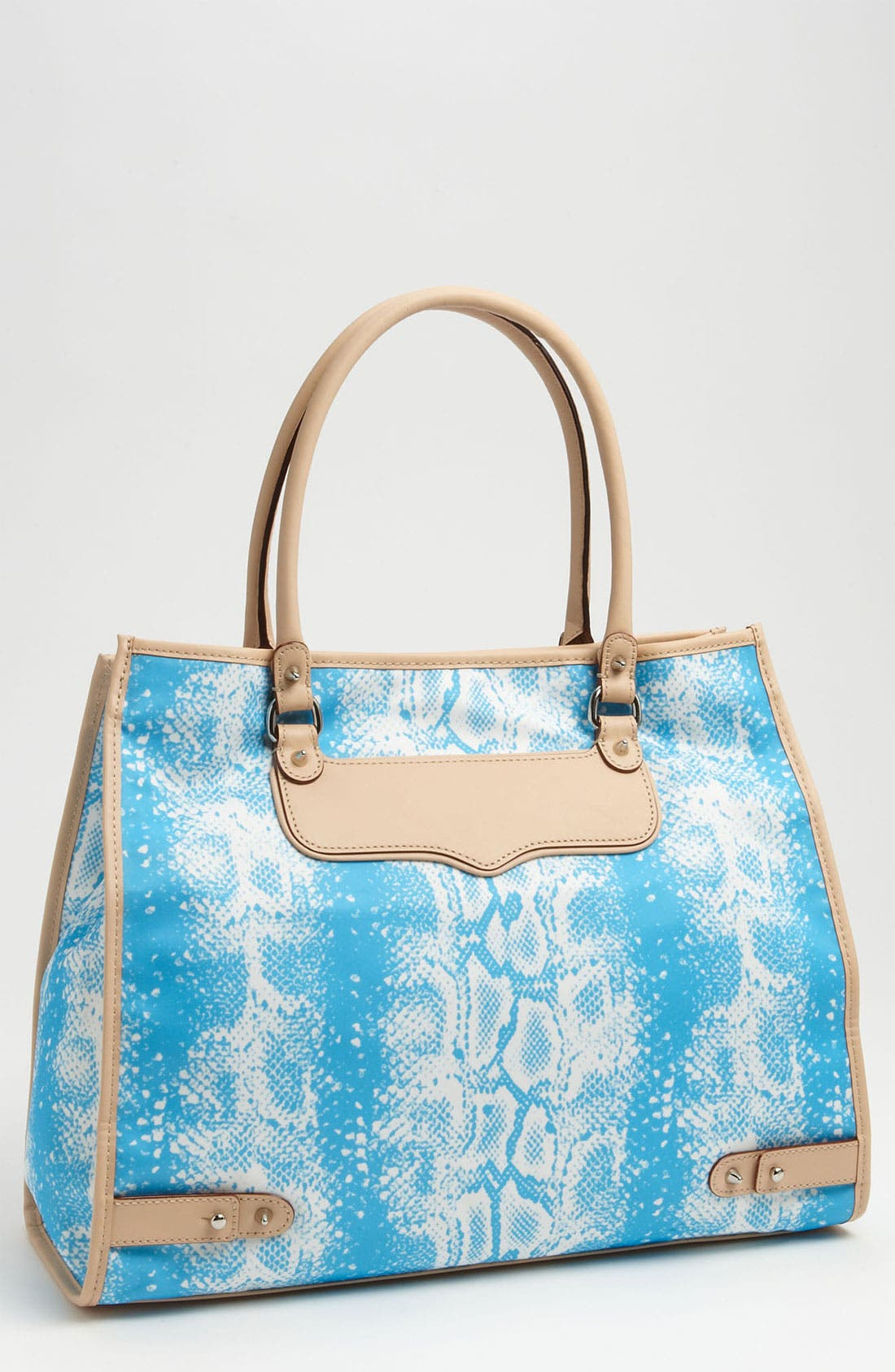 Alternate Image 1 Selected - Rebecca Minkoff 'Diamond' Snakeskin Print Tote