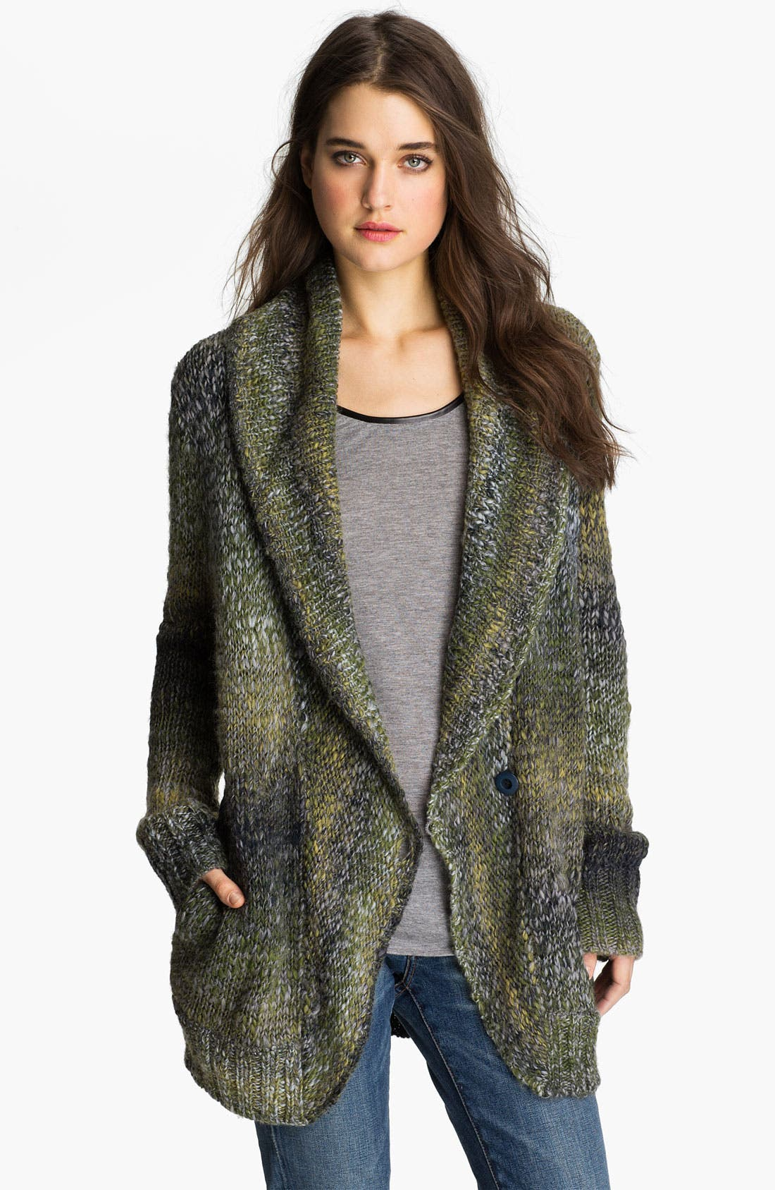Main Image - Hinge® Shawl Collar Cardigan