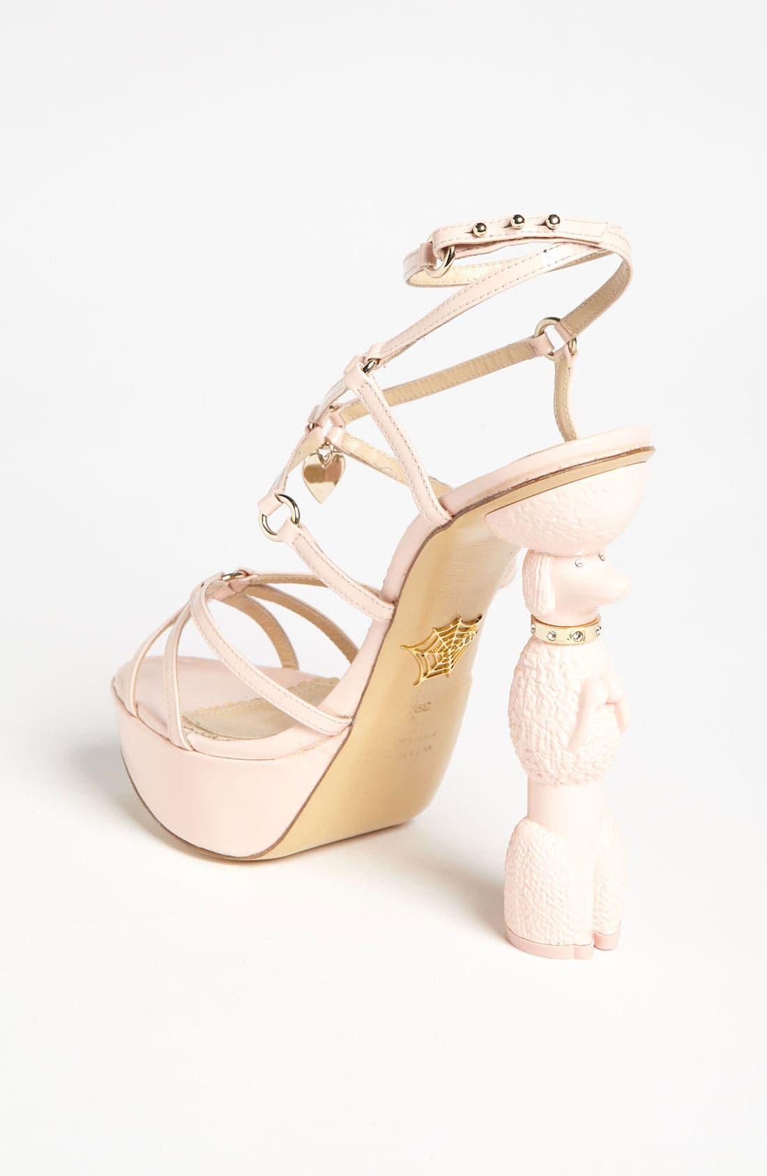 Alternate Image 2  - Charlotte Olympia 'Cherie' Sandal