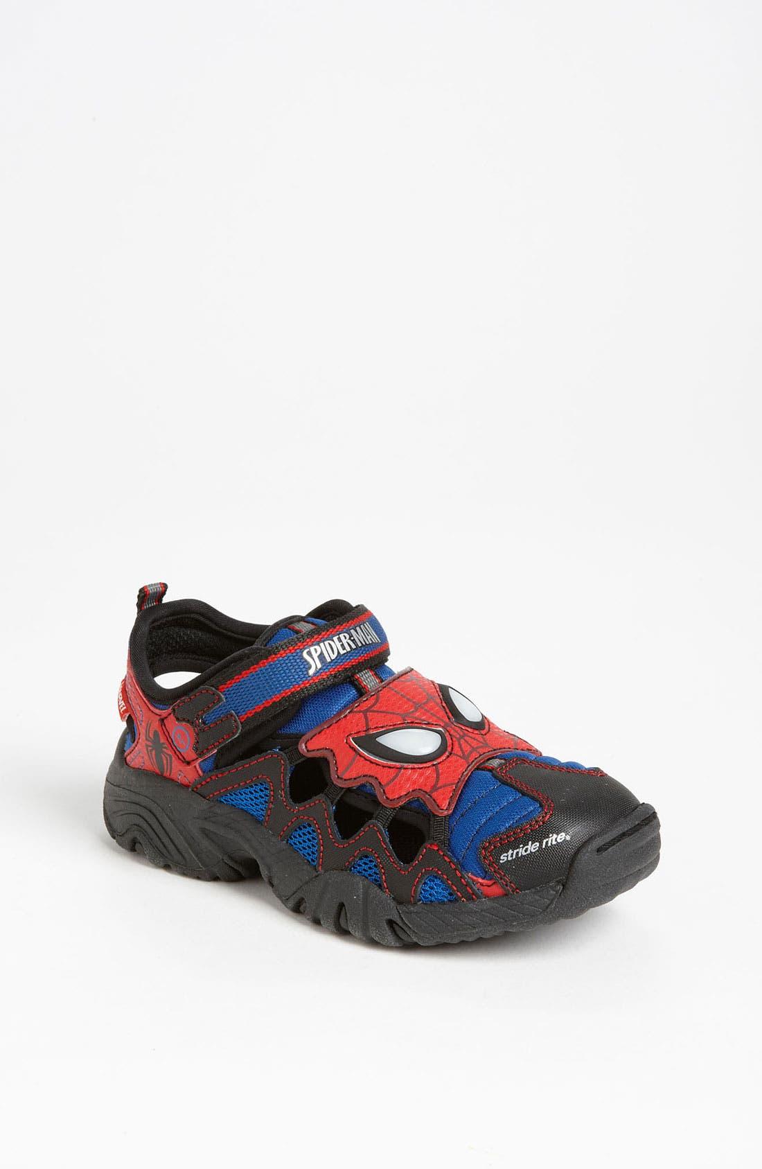 Main Image - Stride Rite 'Spider-Man®' Sandal (Toddler & Little Kid)