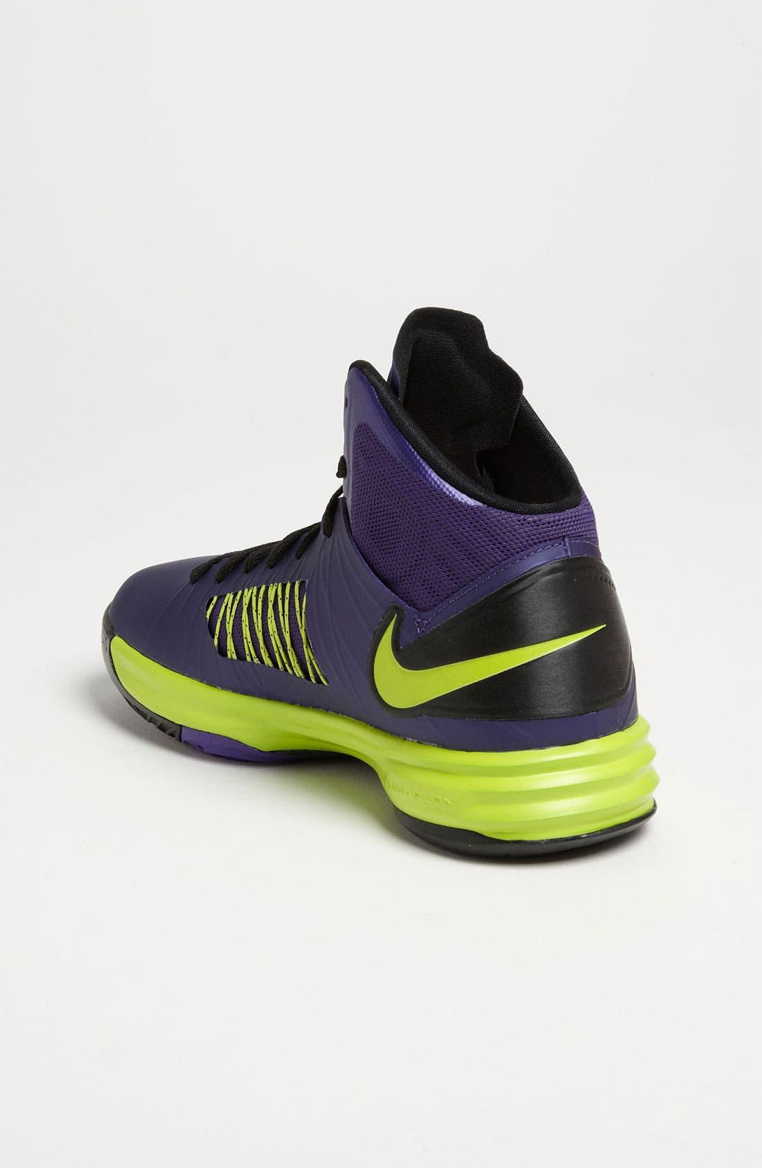 Alternate Image 2  - Nike 'Lunar Hyperdunk' Basketball Shoe (Big Kid)