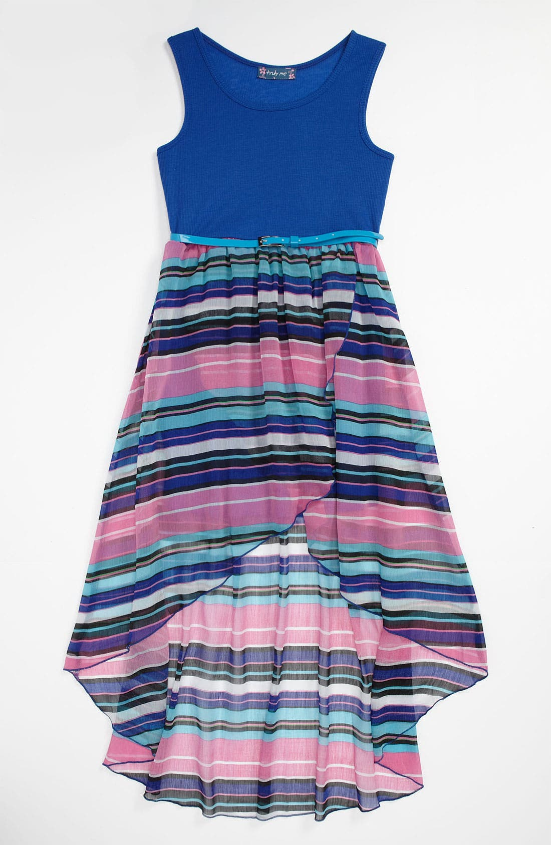 Alternate Image 1 Selected - Truly Me Sleeveless Dress (Big Girls)