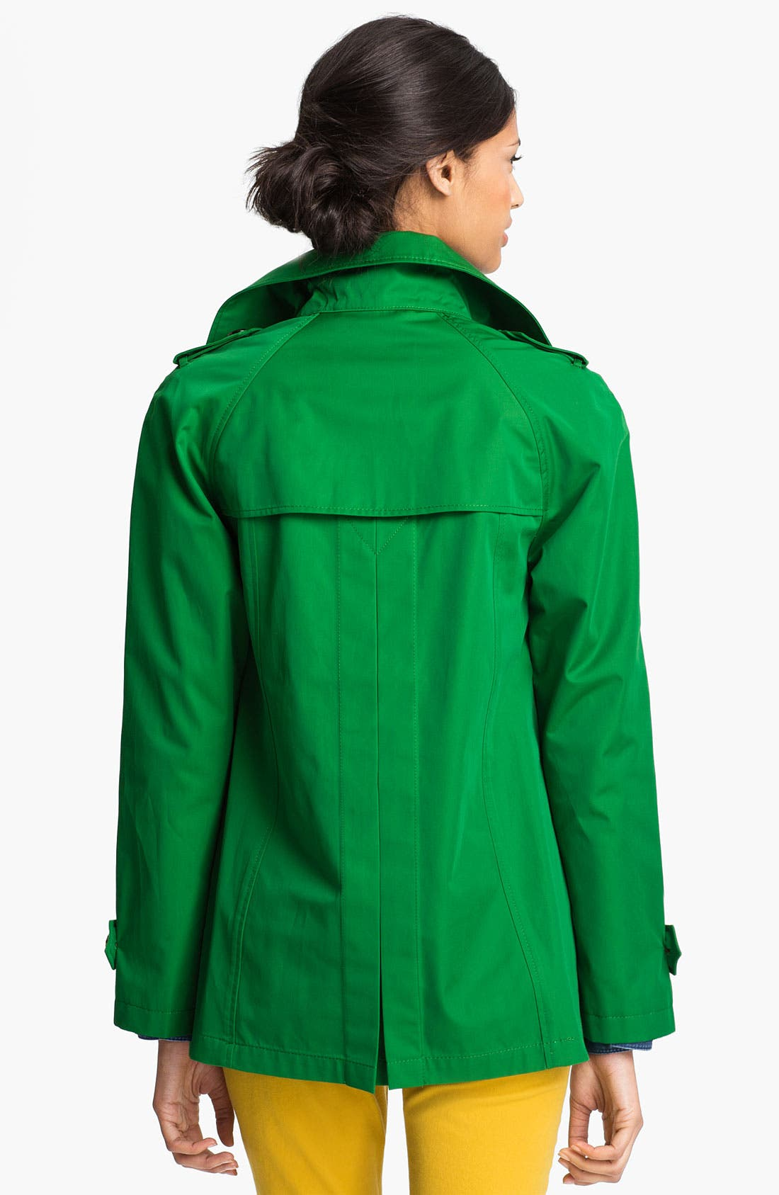 Alternate Image 2  - Ellen Tracy Stand Collar A-Line Jacket (Nordstrom Exclusive)