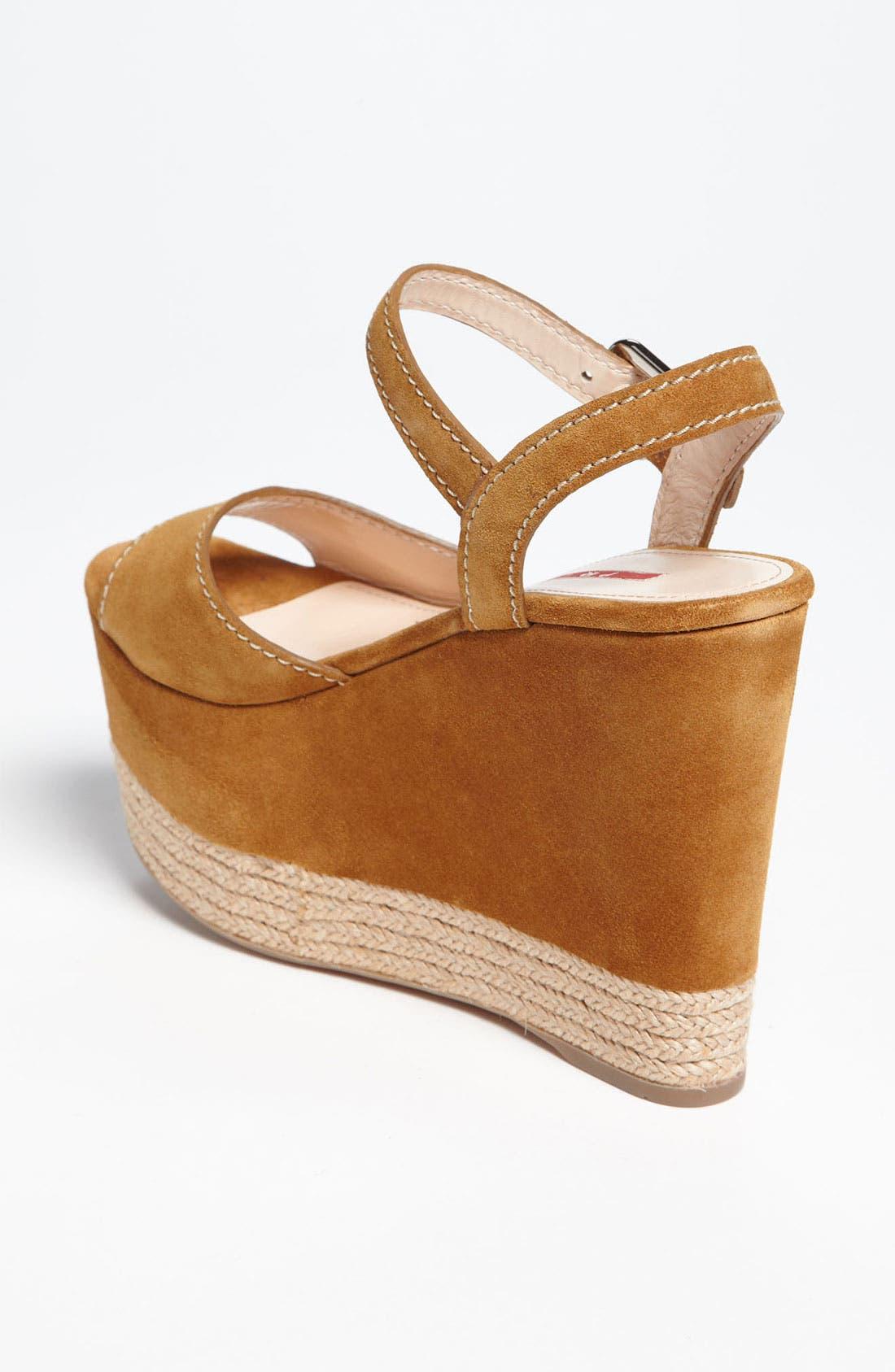 Alternate Image 2  - Prada Wedge Sandal