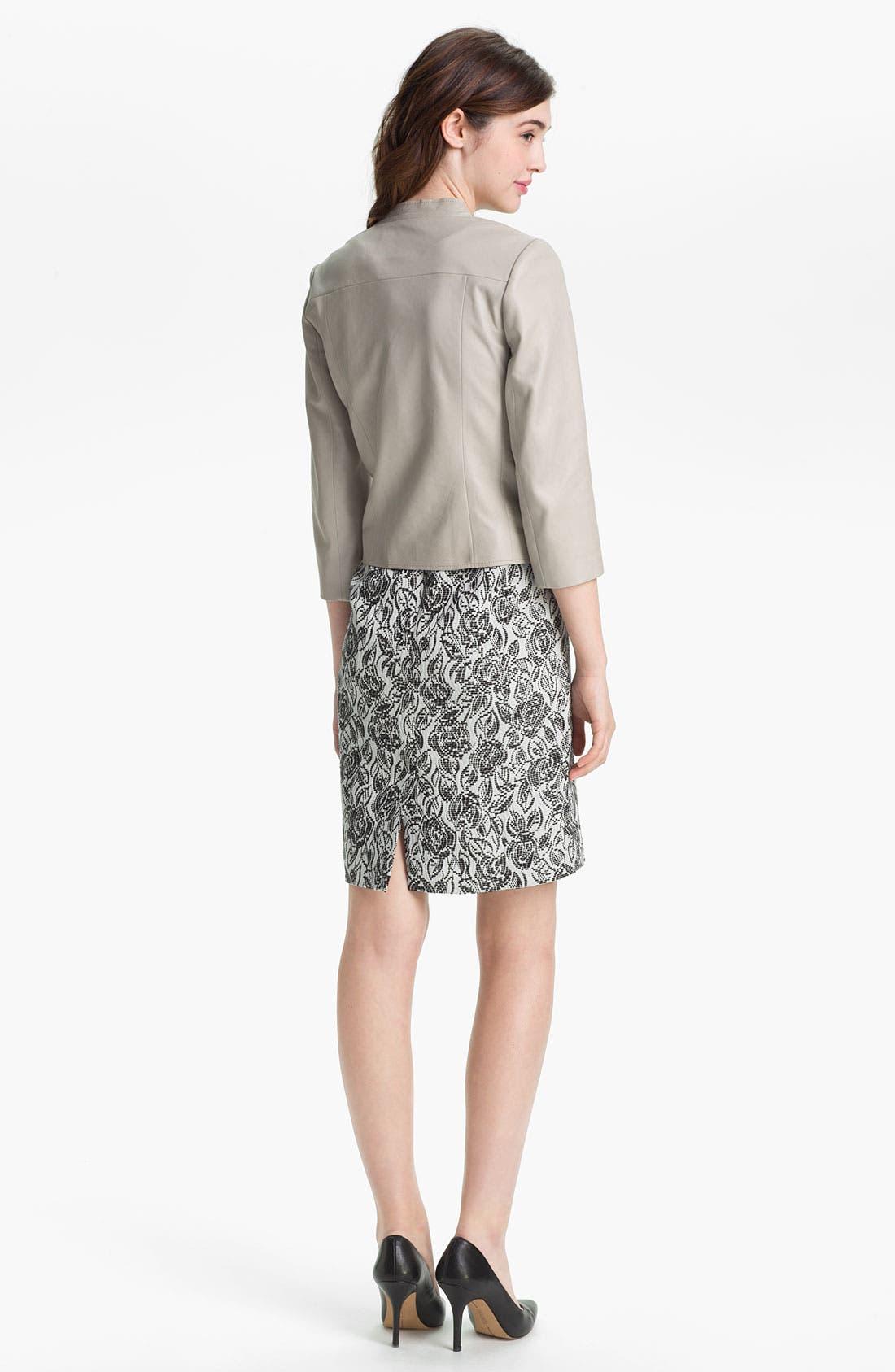 Alternate Image 5  - Classiques Entier® 'Laurel' Jacquard Dress
