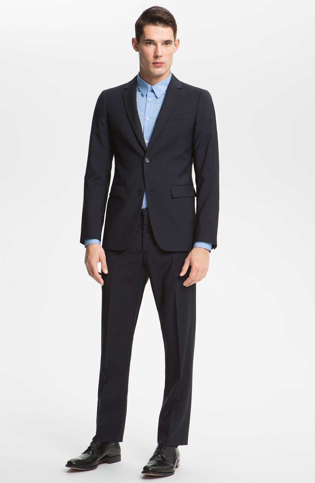Alternate Image 2  - Jil Sander Wool Suit