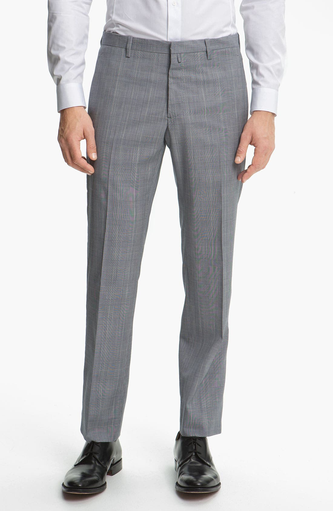 Alternate Image 4  - Jil Sander Glen Plaid Suit