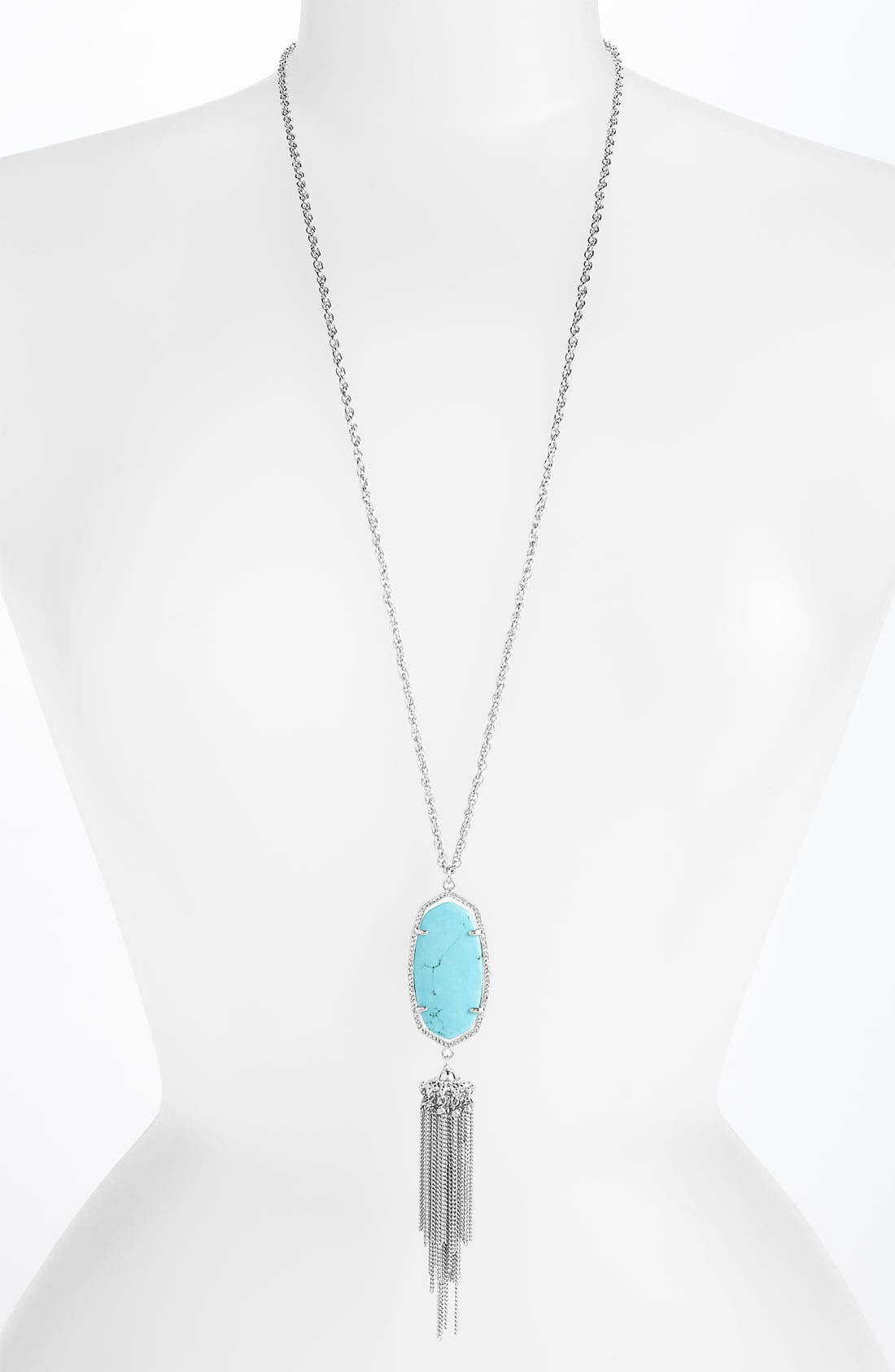 Alternate Image 1 Selected - Kendra Scott 'Rayne' Pendant Necklace