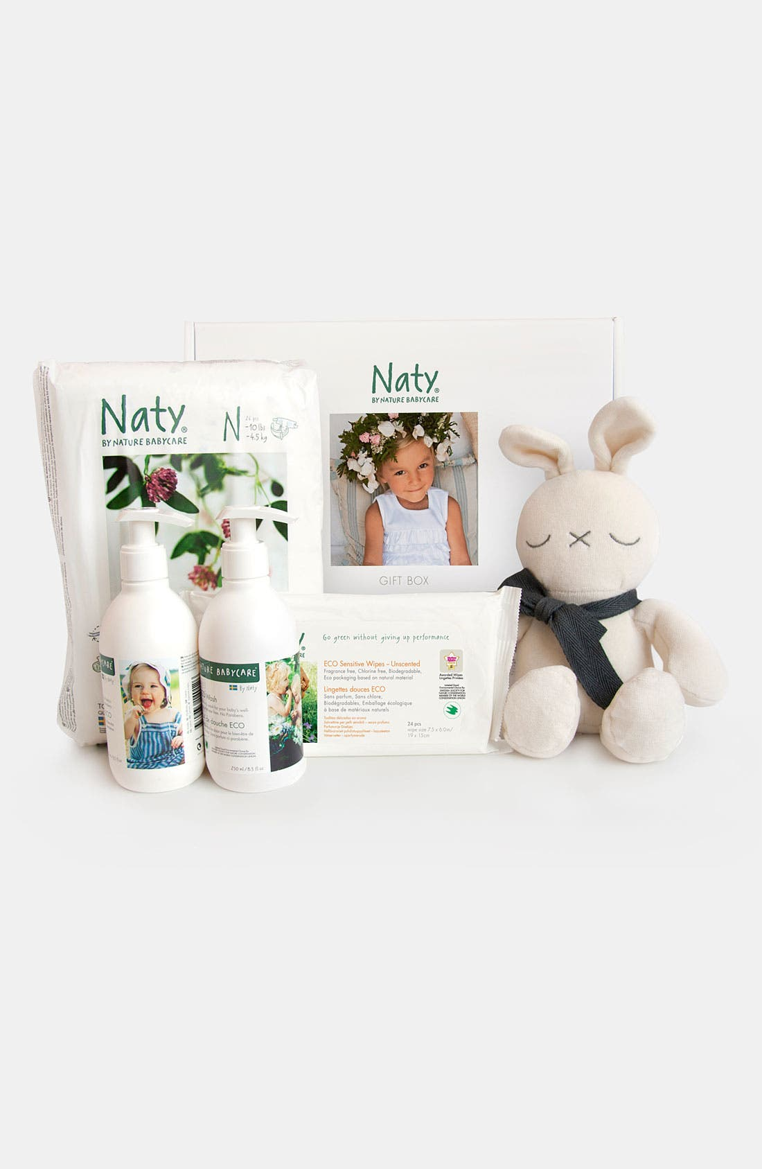 Alternate Image 2  - Naty by Nature Babycare Diaper Starter Set