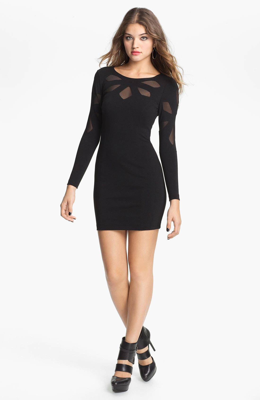 Alternate Image 1 Selected - Keepsake the Label 'Love Out of Lust' Long Sleeve Minidress