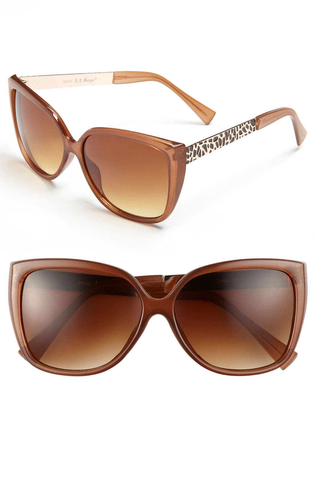 Main Image - A.J. Morgan Retro Sunglasses