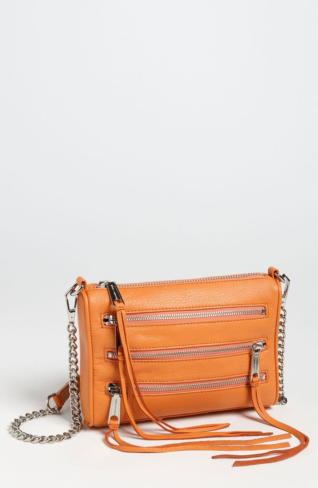 Alternate Image 1 Selected - Rebecca Minkoff 'Mini 5 Zip' Convertible Crossbody Bag