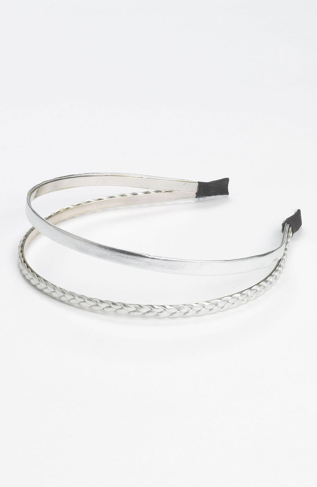 Alternate Image 1 Selected - Fantasia Accessories Metallic Double Headband (Girls)