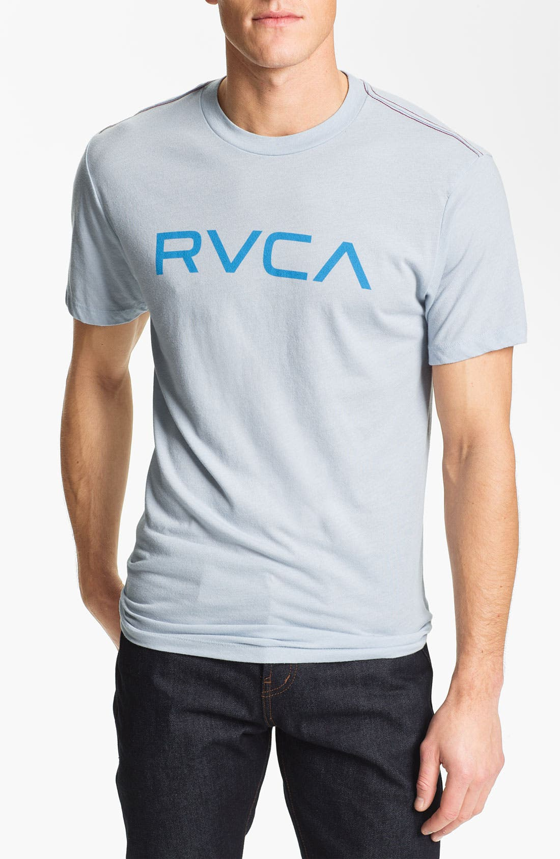 Alternate Image 1 Selected - RVCA 'Big RVCA Logo' T-Shirt