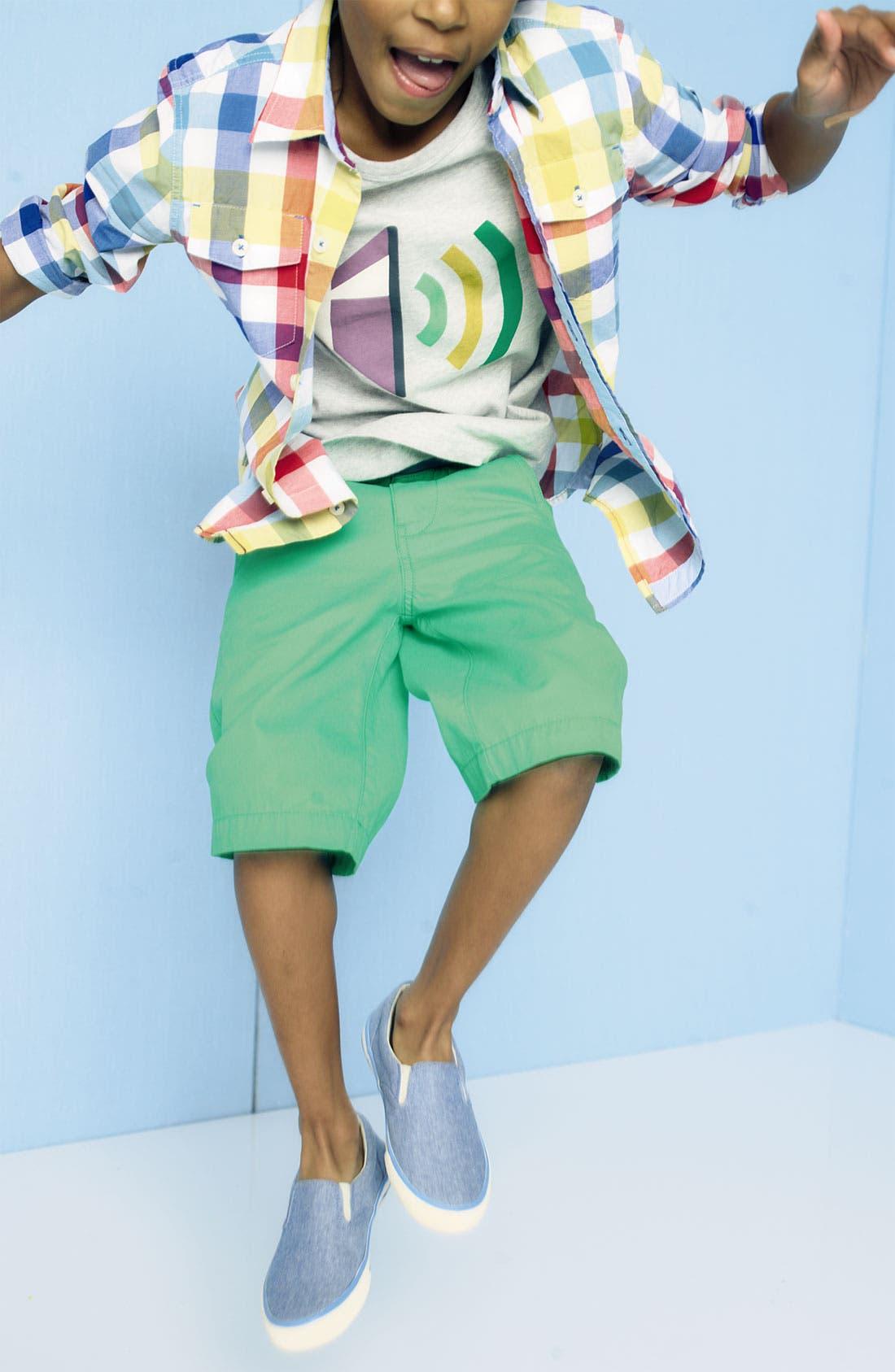 Alternate Image 2  - Mini Boden 'Deck' Shorts (Toddler, Little Boys & Big Boys)