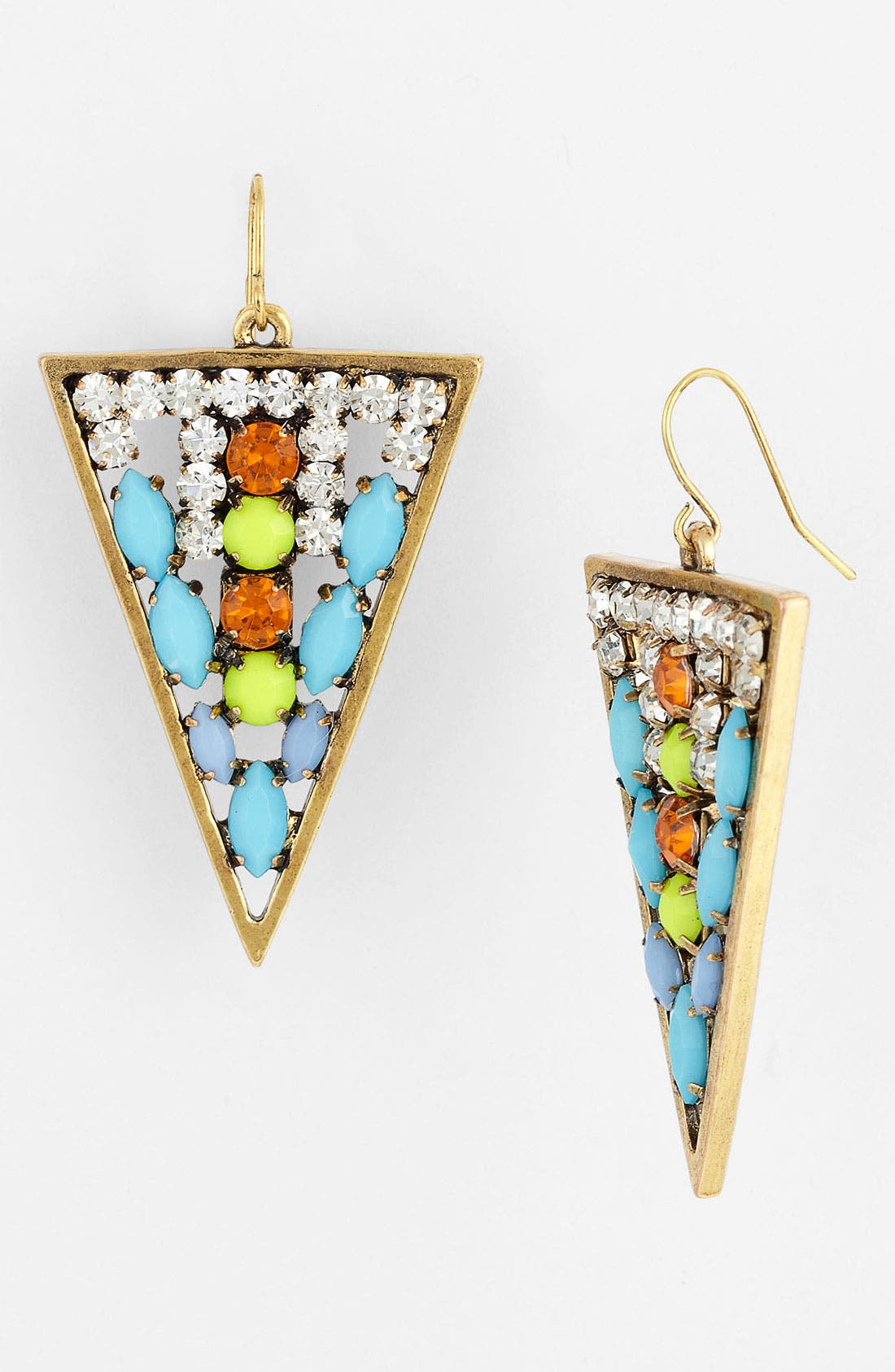Alternate Image 1 Selected - Spring Street 'Crystal Details' Earrings (Nordstrom Exclusive)