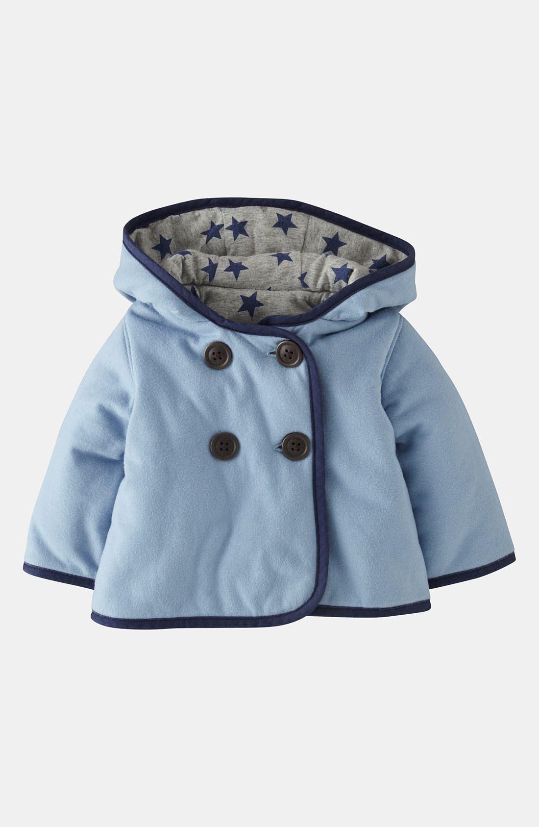 Main Image - Mini Boden Padded Jersey Jacket (Baby)