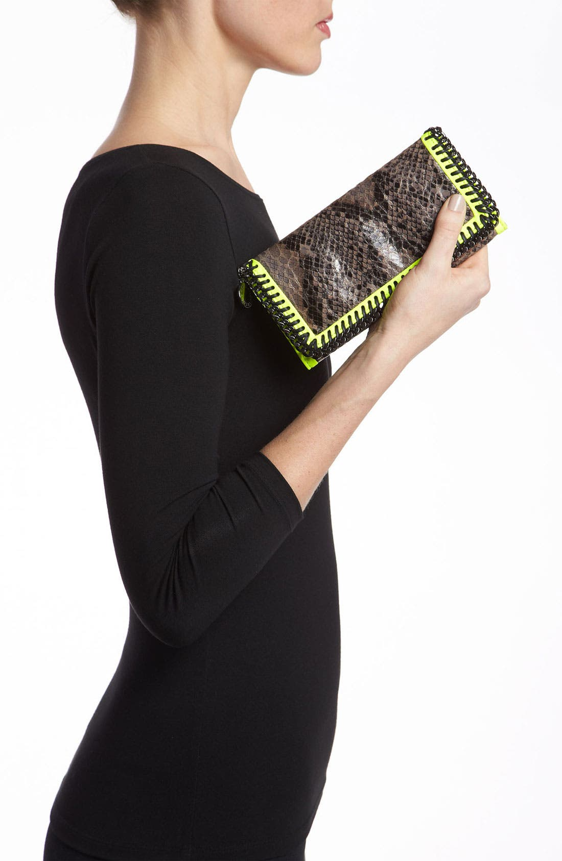 Alternate Image 2  - Stella McCartney 'Falabella' Faux Python Wallet
