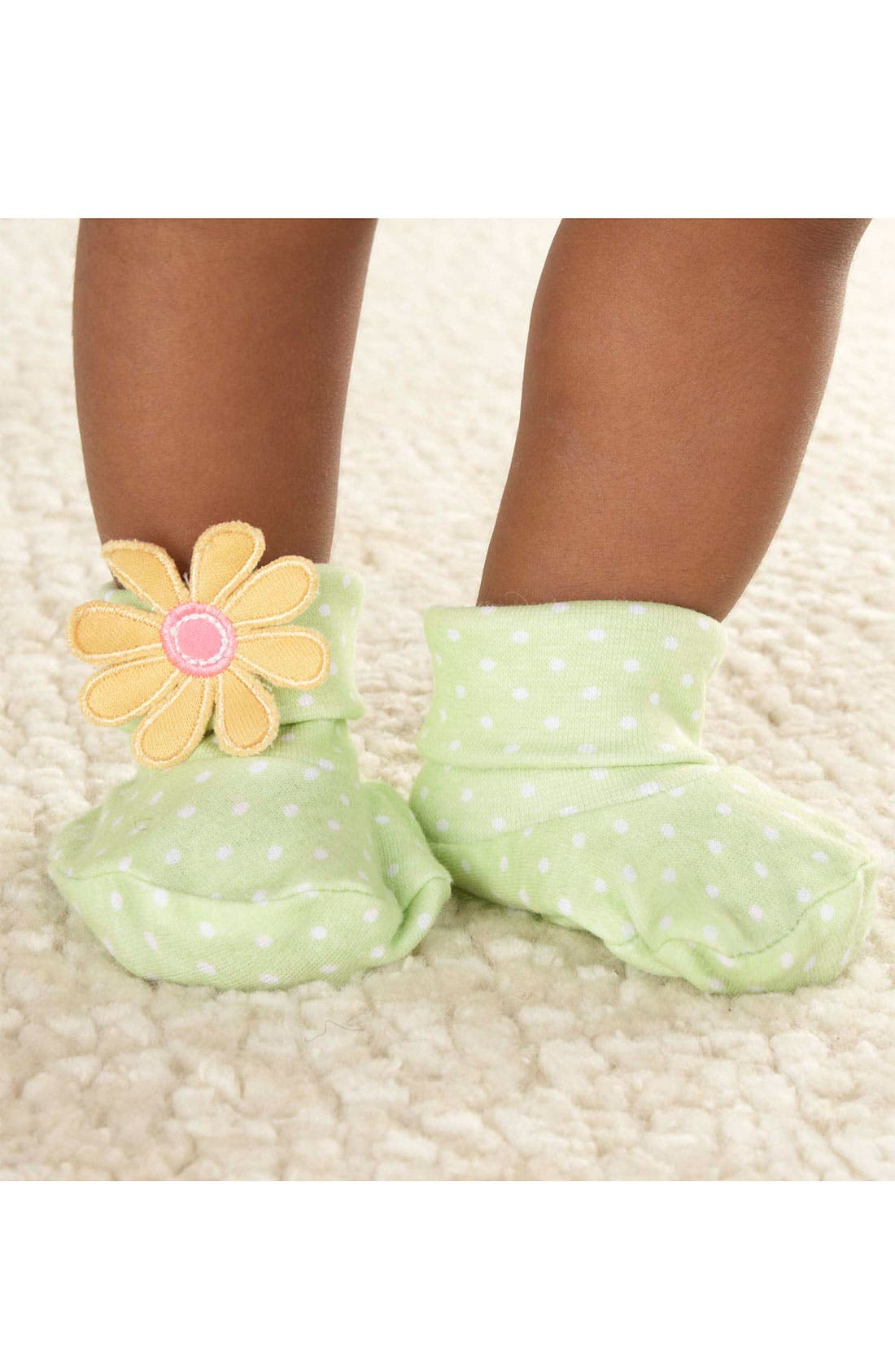Alternate Image 3  - Baby Aspen 'Bunch O Blooms' Headband & Booties (Infant)