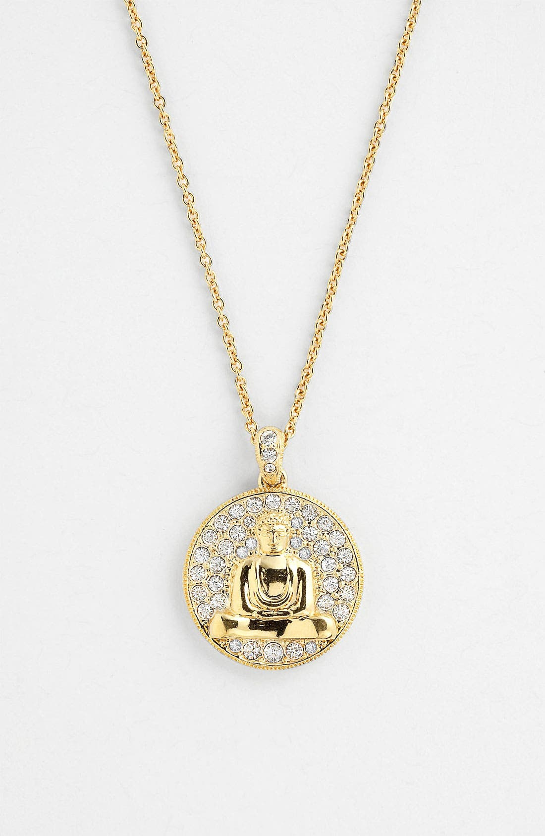Alternate Image 1 Selected - Nadri 'Buddha' Pendant Necklace (Nordstrom Exclusive)