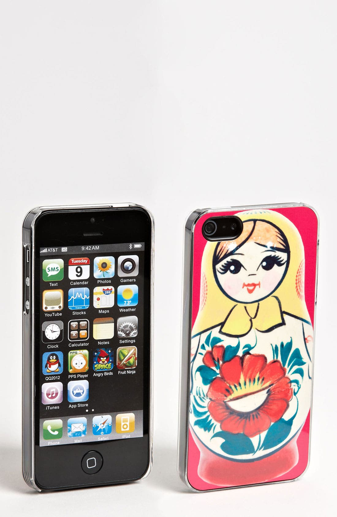 Alternate Image 1 Selected - ZERO GRAVITY 'Russian Cutie' iPhone 5 Case