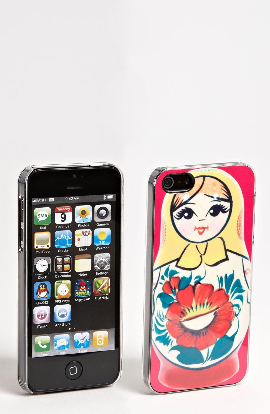 Main Image - ZERO GRAVITY 'Russian Cutie' iPhone 5 Case