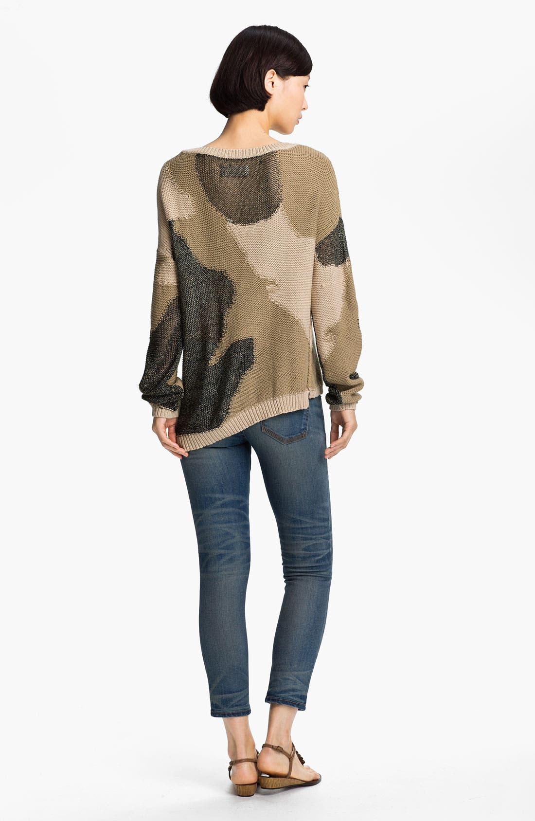 Alternate Image 2  - Zadig & Voltaire Camouflage Intarsia Knit Sweater
