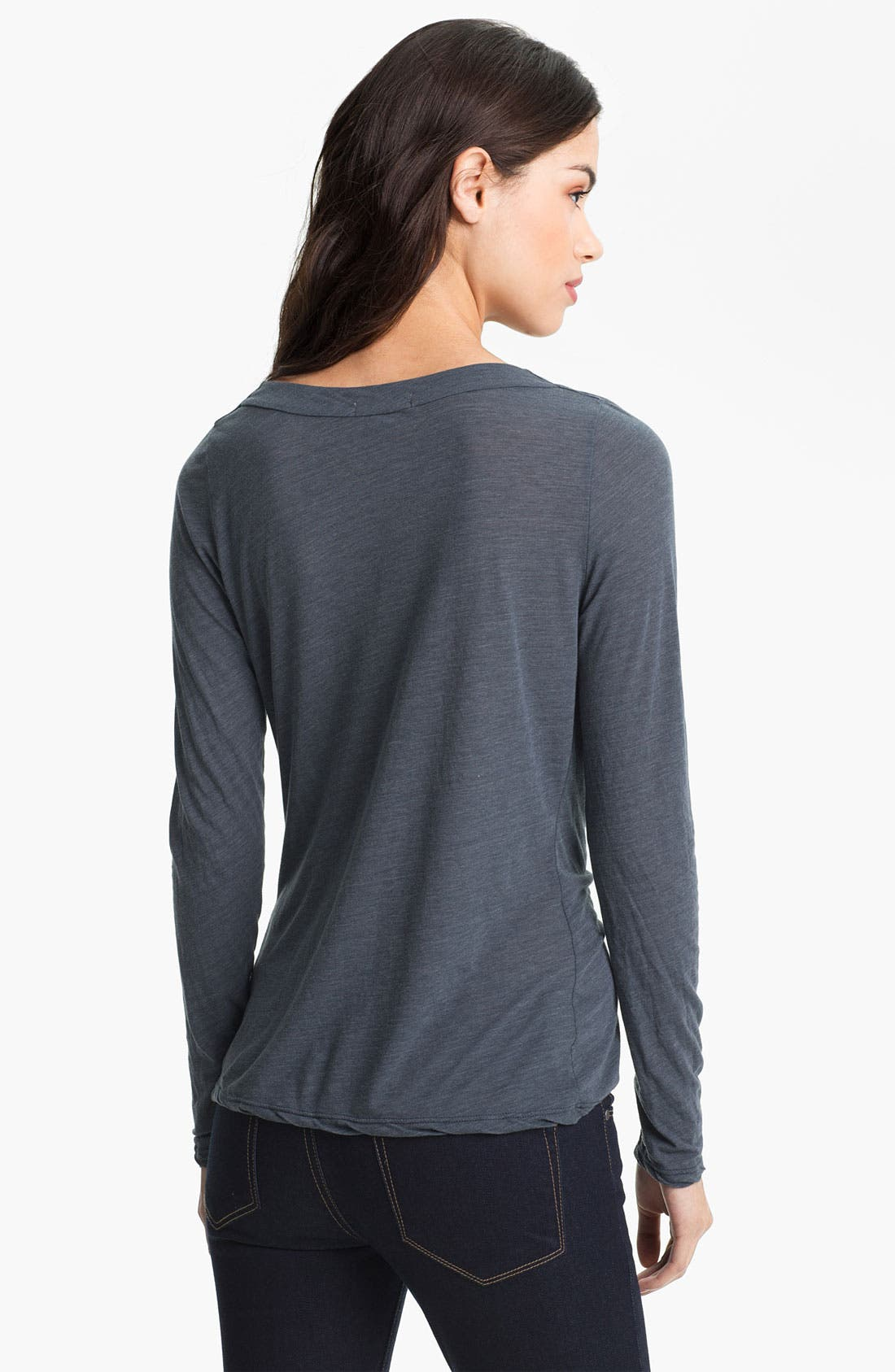 Alternate Image 2  - James Perse Drape Neck Top