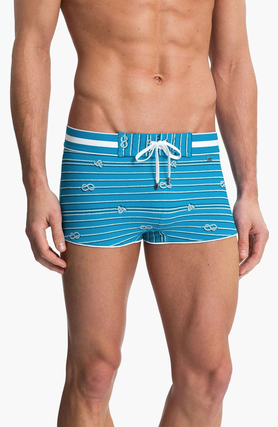 Main Image - 2(x)ist 'Nautical - Cabo' Swim Briefs (Online Only)