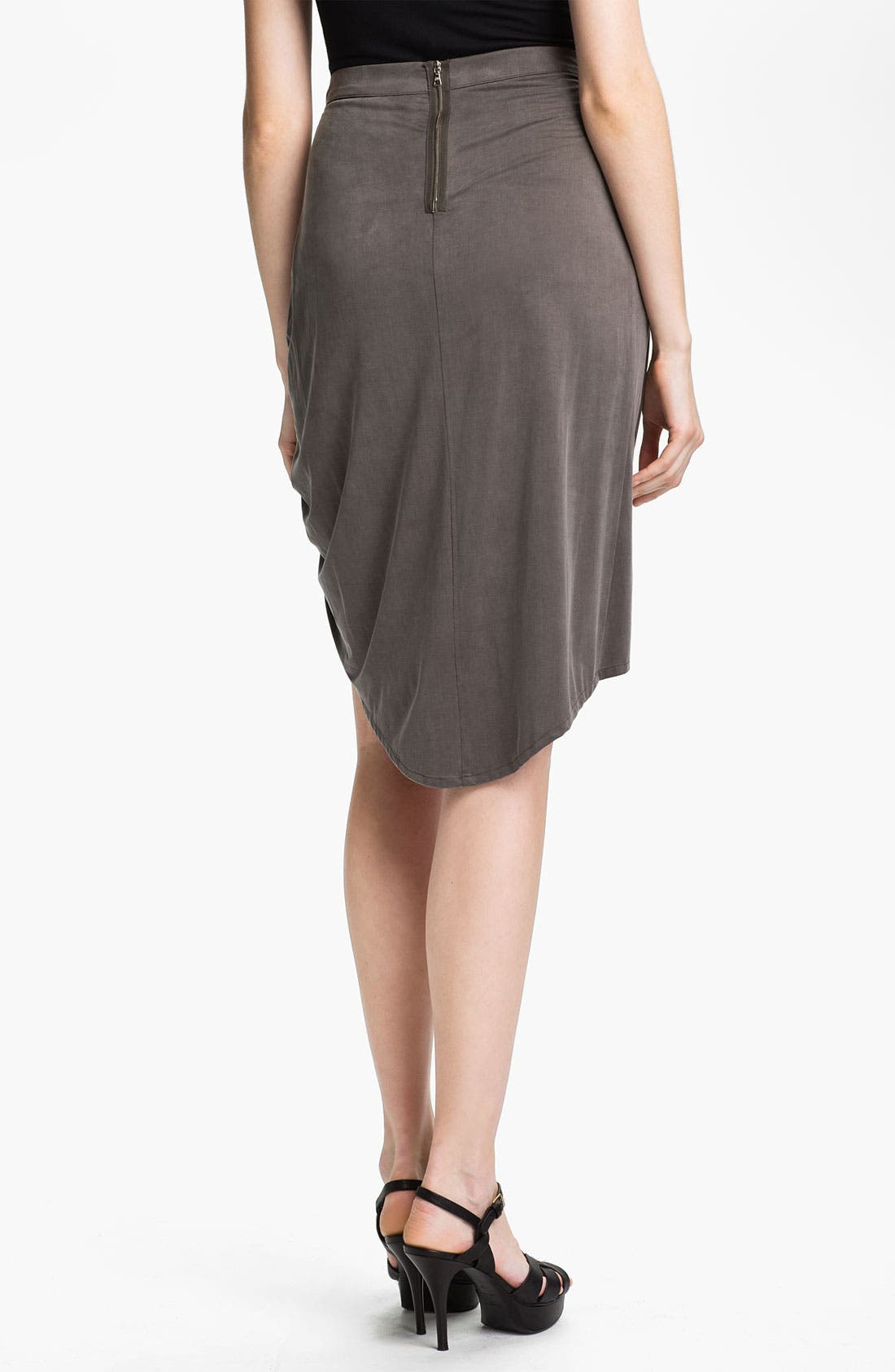 Alternate Image 2  - J Brand Ready-to-Wear Draped Skirt