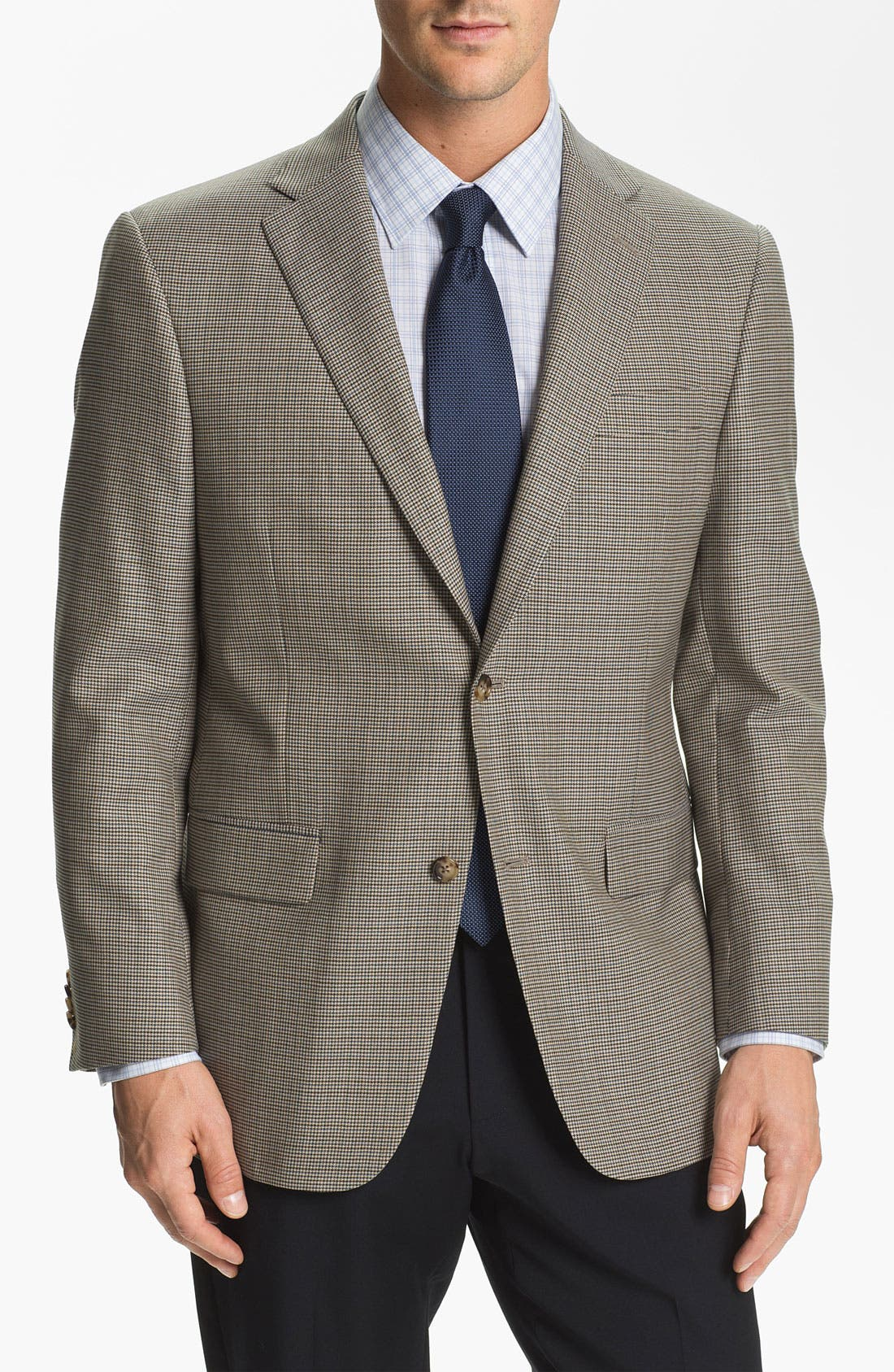 Alternate Image 1 Selected - Hart Schaffner Marx Houndstooth Check Sportcoat (Big)