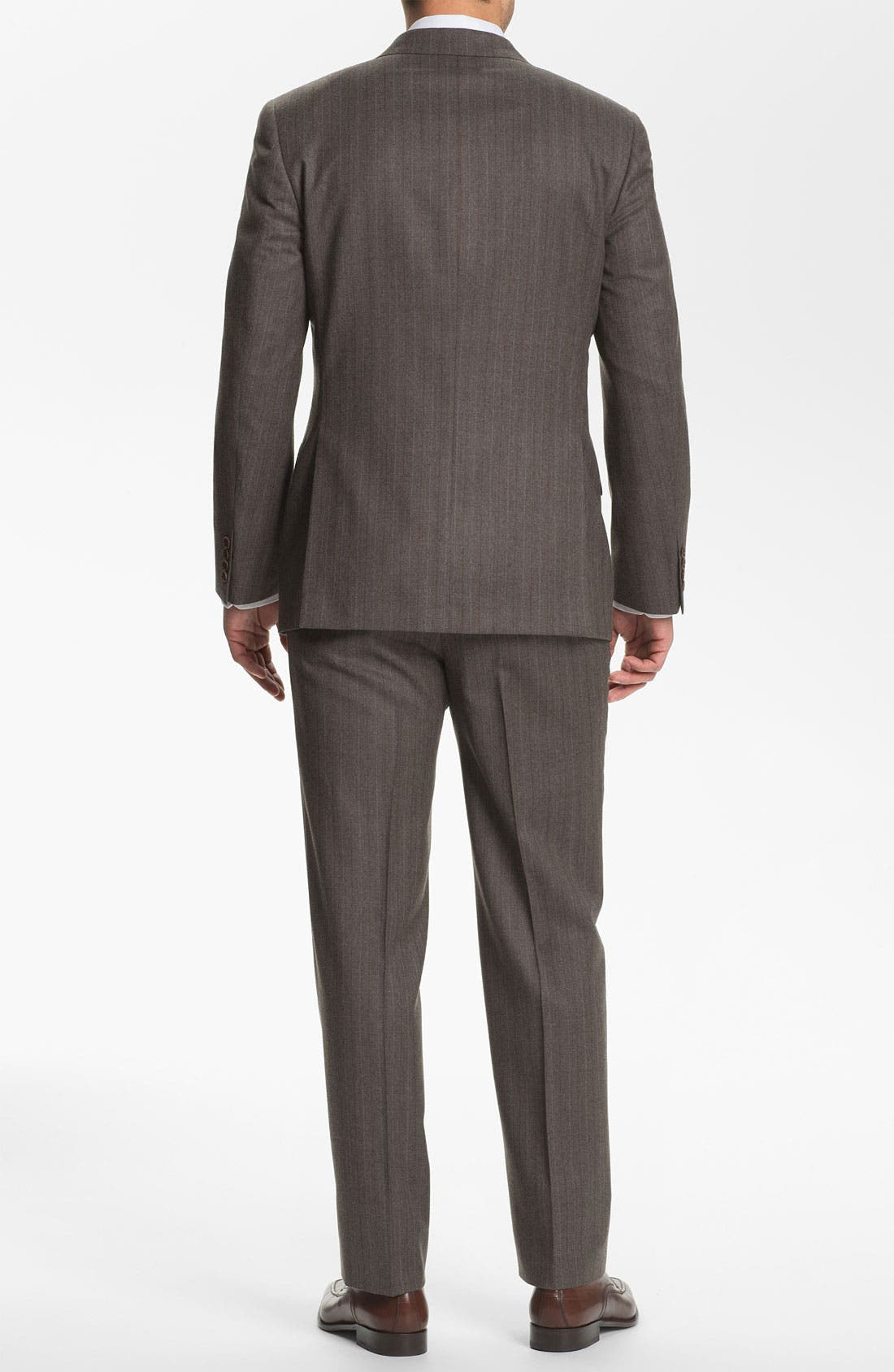 Alternate Image 3  - Joseph Abboud 'Profile' Trim Fit Stripe Suit