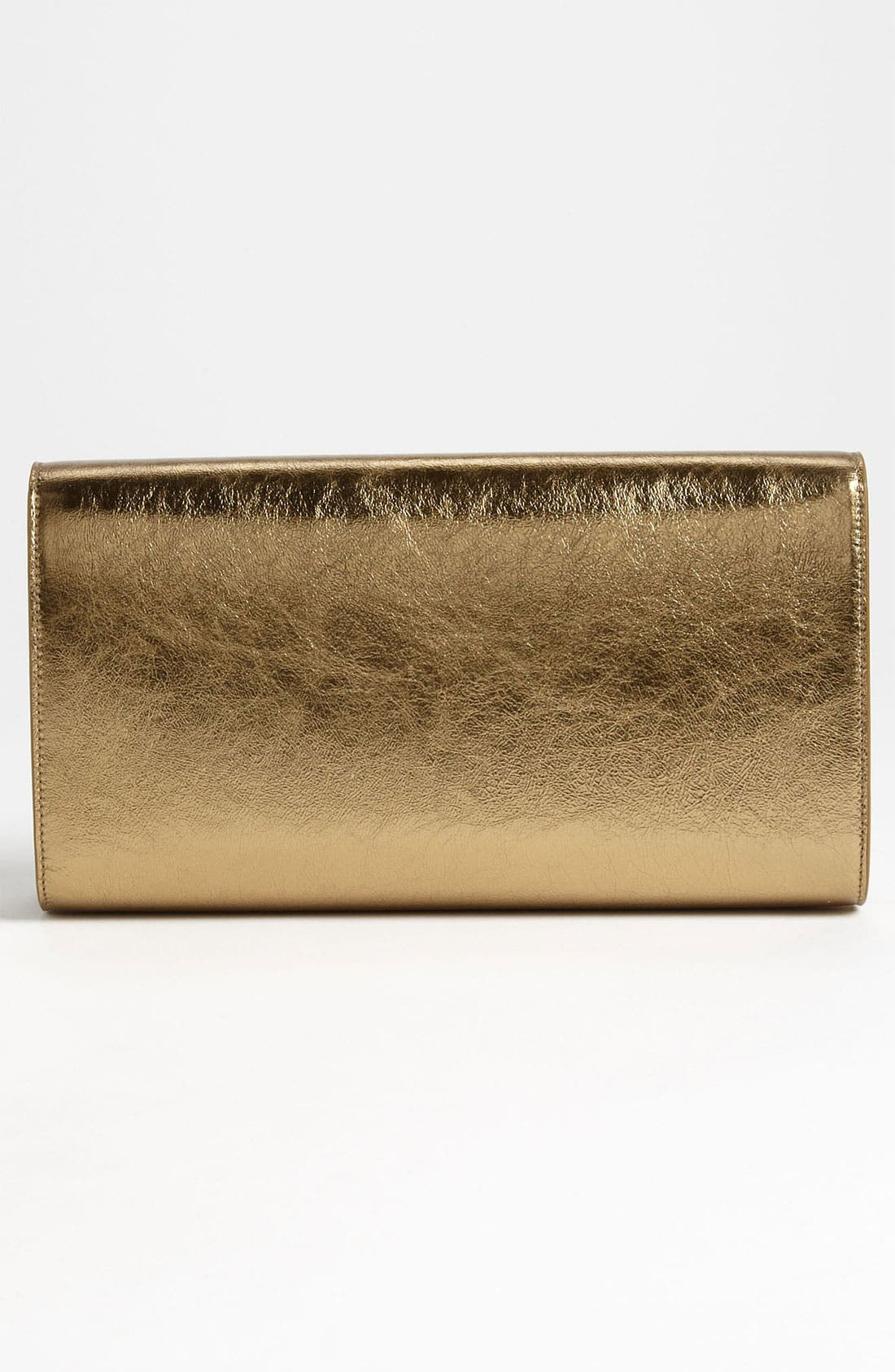 Alternate Image 3  - Saint Laurent 'Belle de Jour' Metallic Leather Clutch