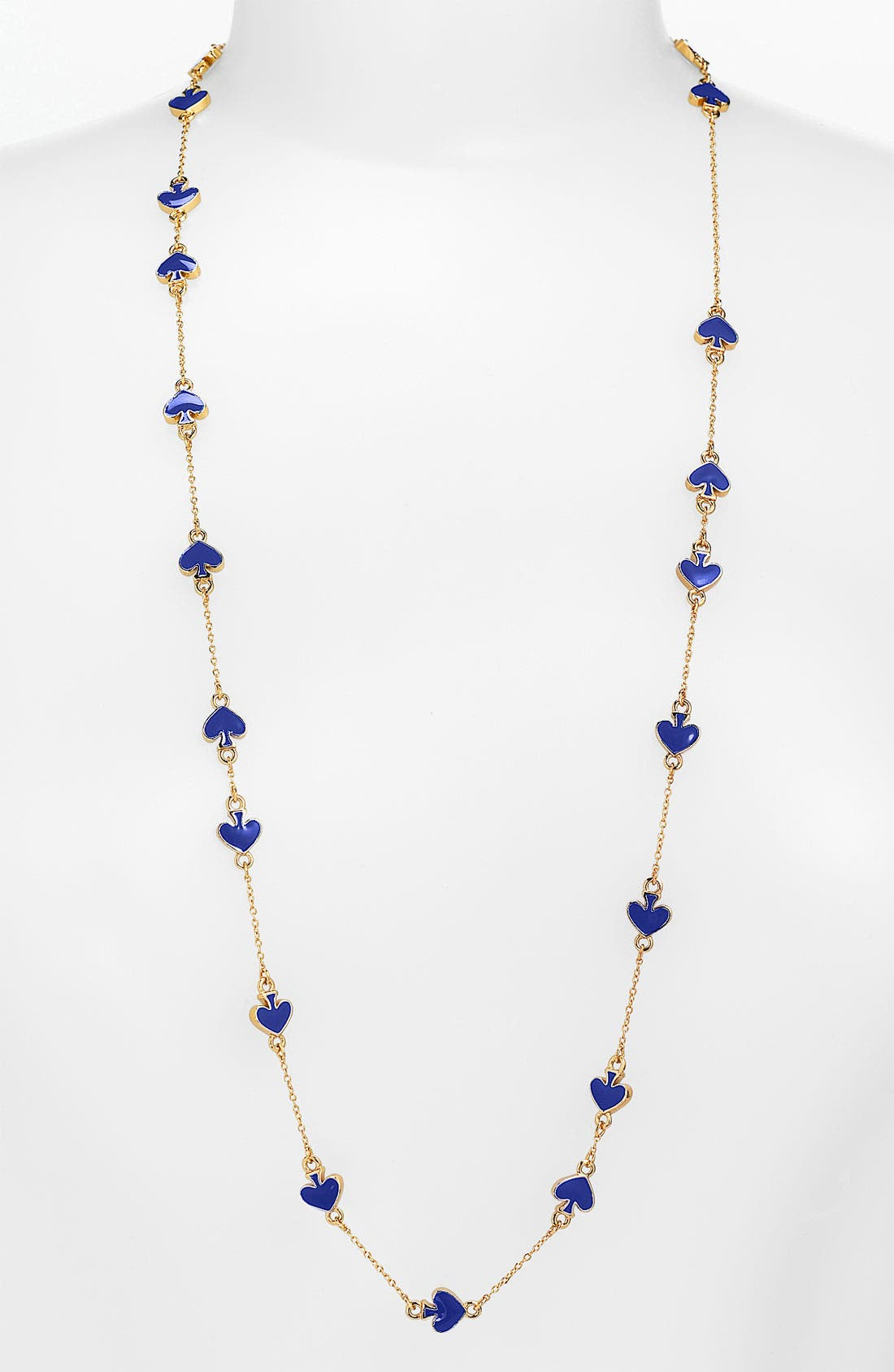 Main Image - kate spade new york 'spade to spade' station necklace