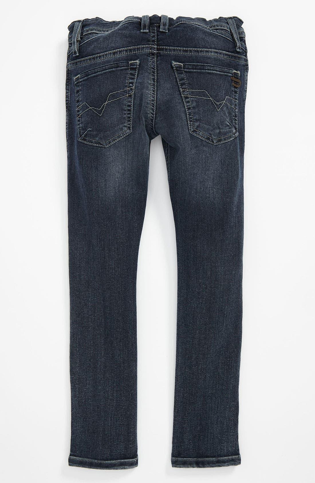 Alternate Image 1 Selected - DIESEL® 'Shioner' Jeans (Little Boys & Big Boys)