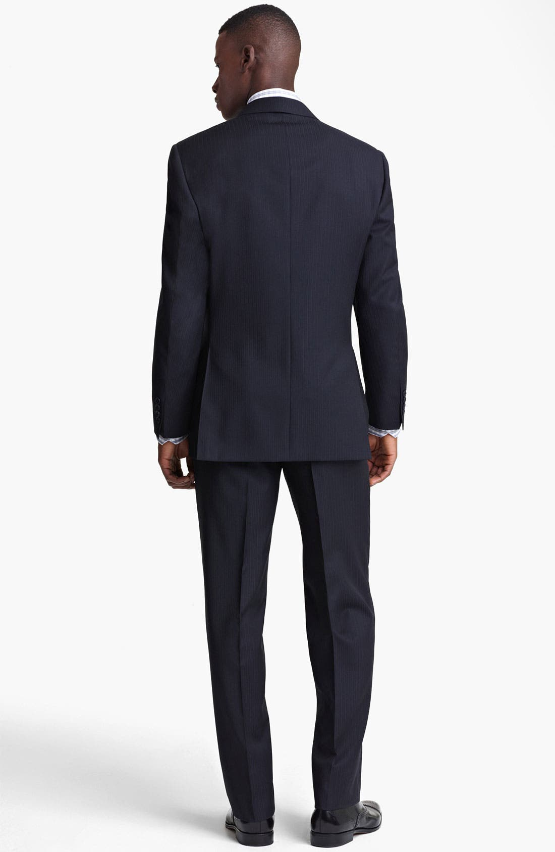 Alternate Image 3  - Canali Stripe Wool Suit